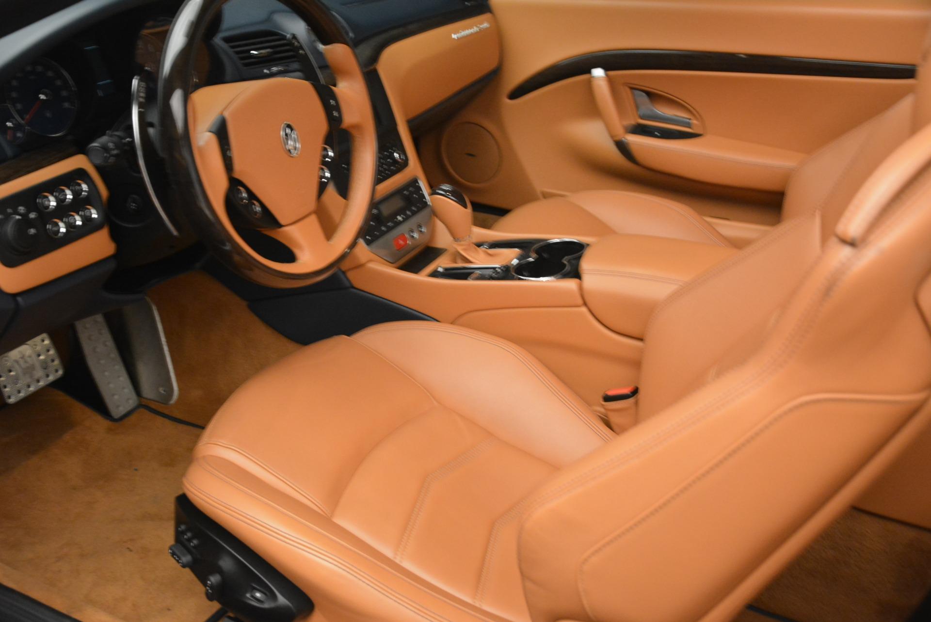 Used 2014 Maserati GranTurismo Sport For Sale In Greenwich, CT 2269_p24