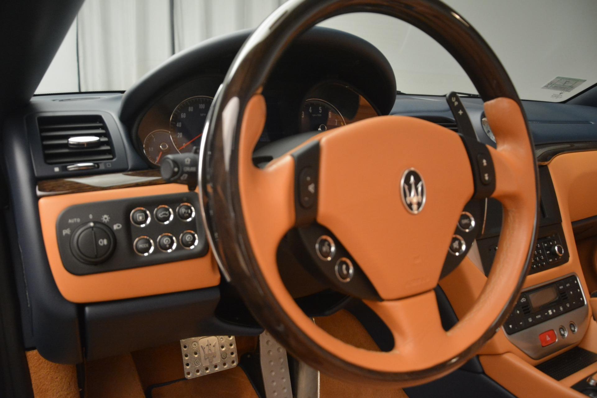 Used 2014 Maserati GranTurismo Sport For Sale In Greenwich, CT 2269_p26