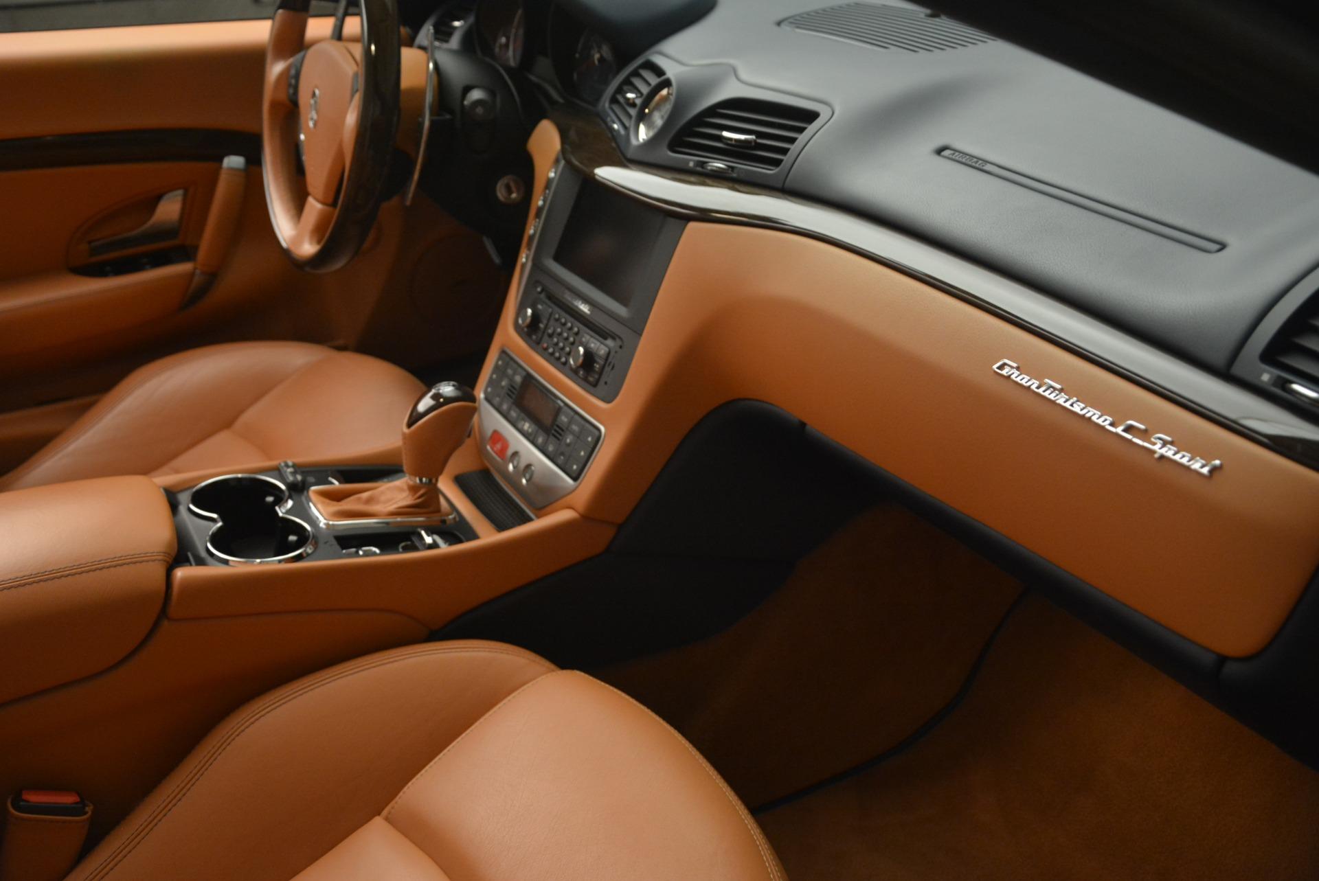 Used 2014 Maserati GranTurismo Sport For Sale In Greenwich, CT 2269_p28