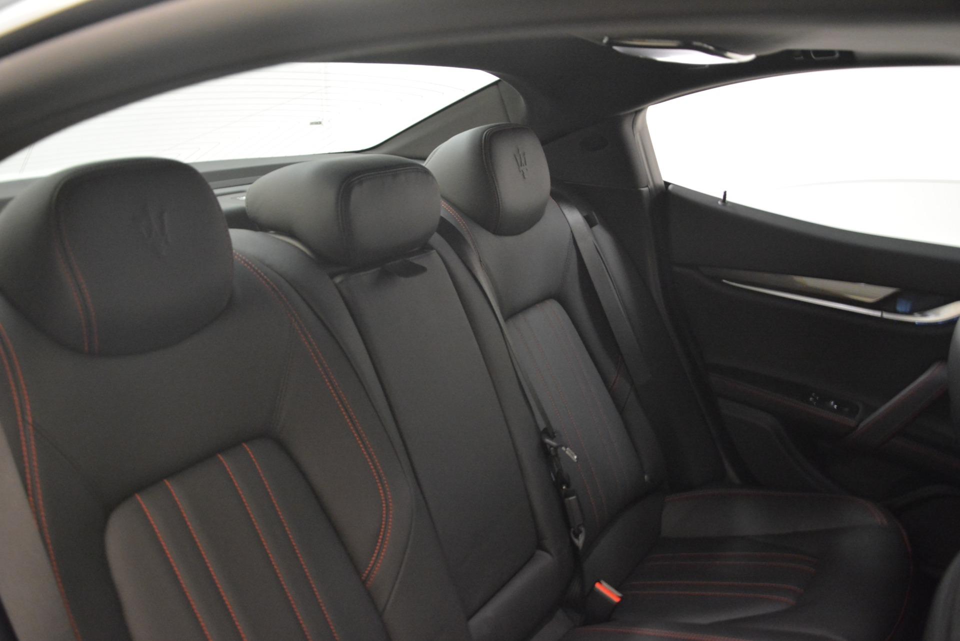 Used 2018 Maserati Ghibli S Q4 For Sale In Greenwich, CT 2271_p28