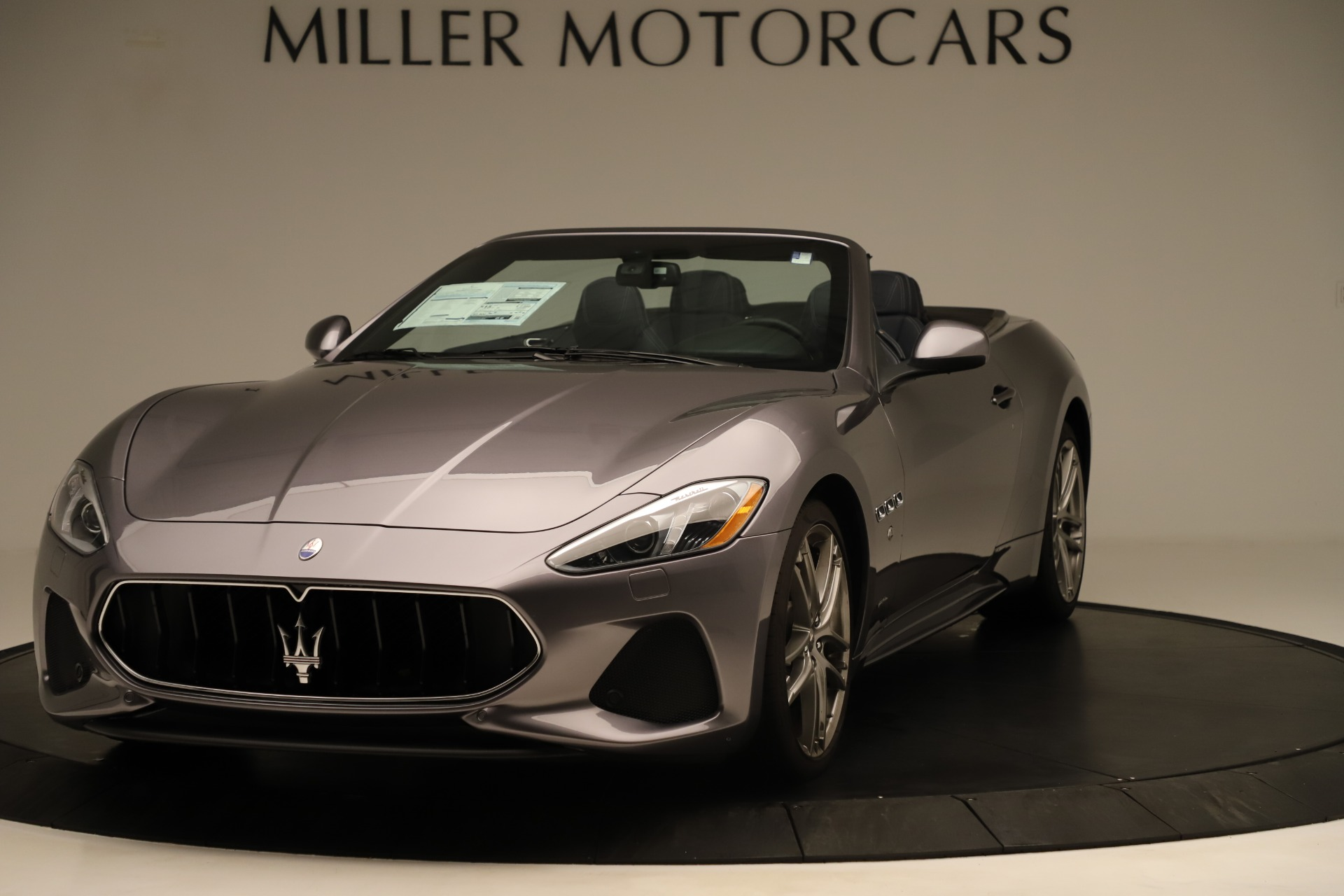 New 2018 Maserati GranTurismo Sport Convertible For Sale In Greenwich, CT 2272_main