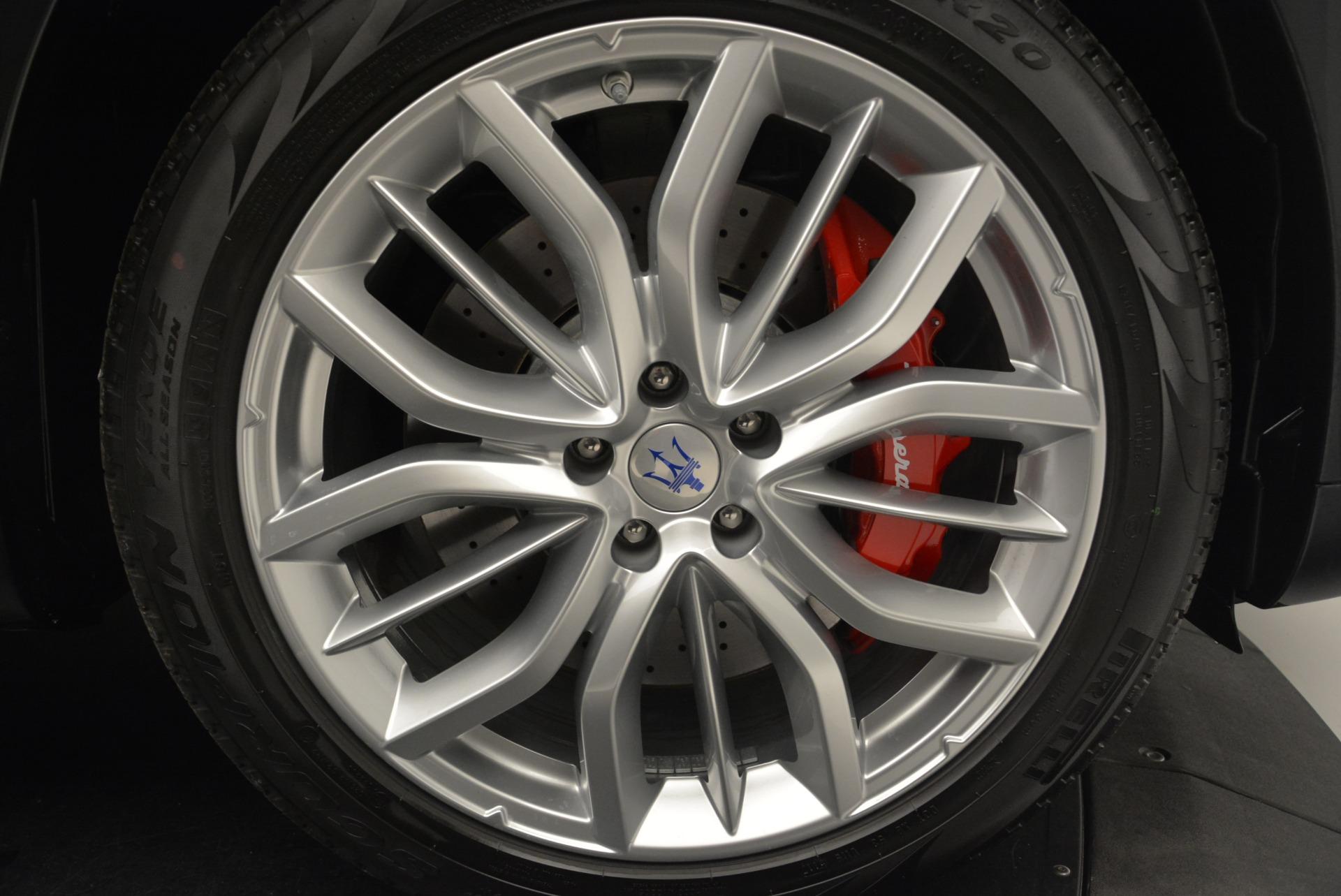 New 2018 Maserati Levante S Q4 GranSport For Sale In Greenwich, CT 2273_p30