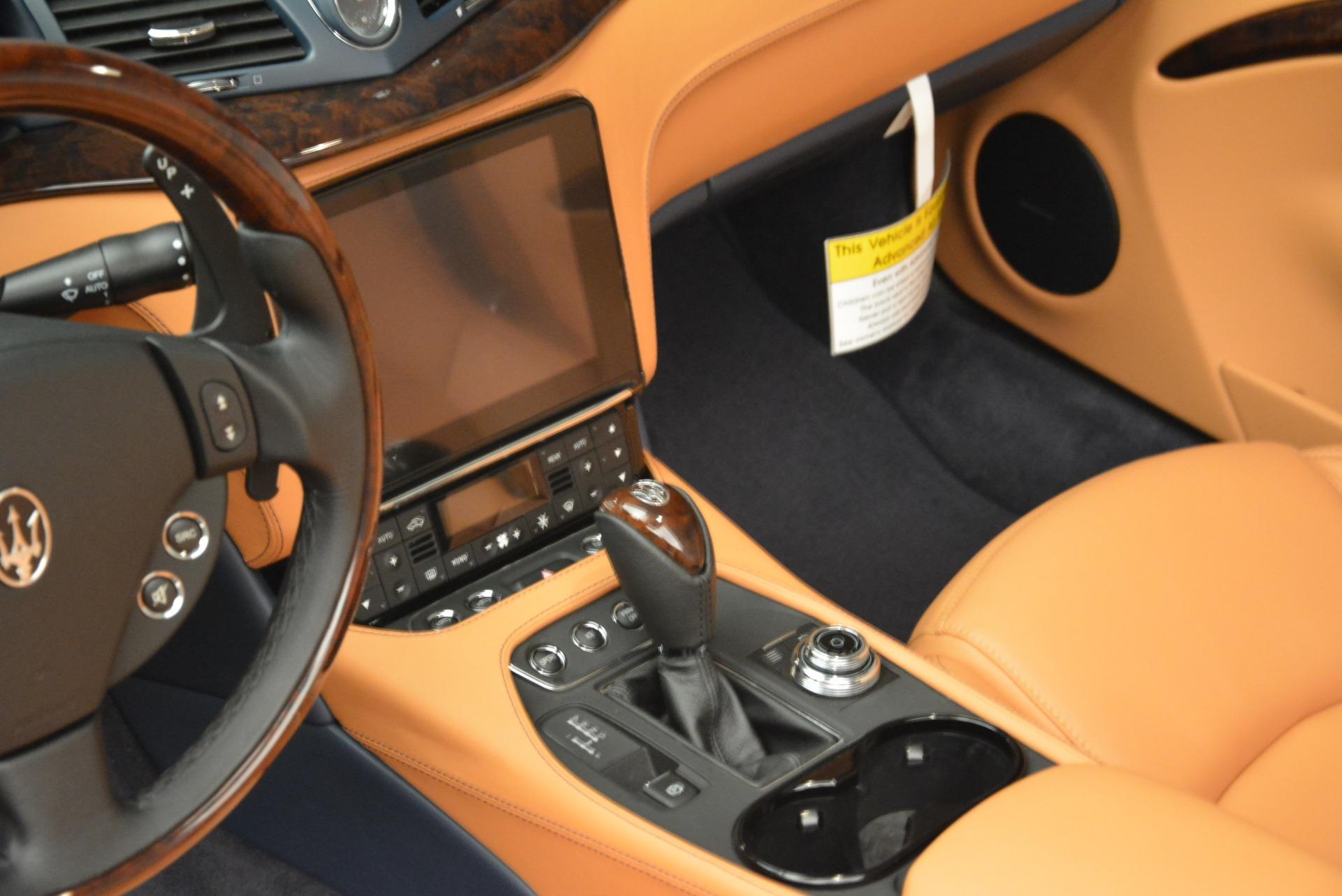 New 2018 Maserati GranTurismo Sport Convertible For Sale In Greenwich, CT 2276_p13