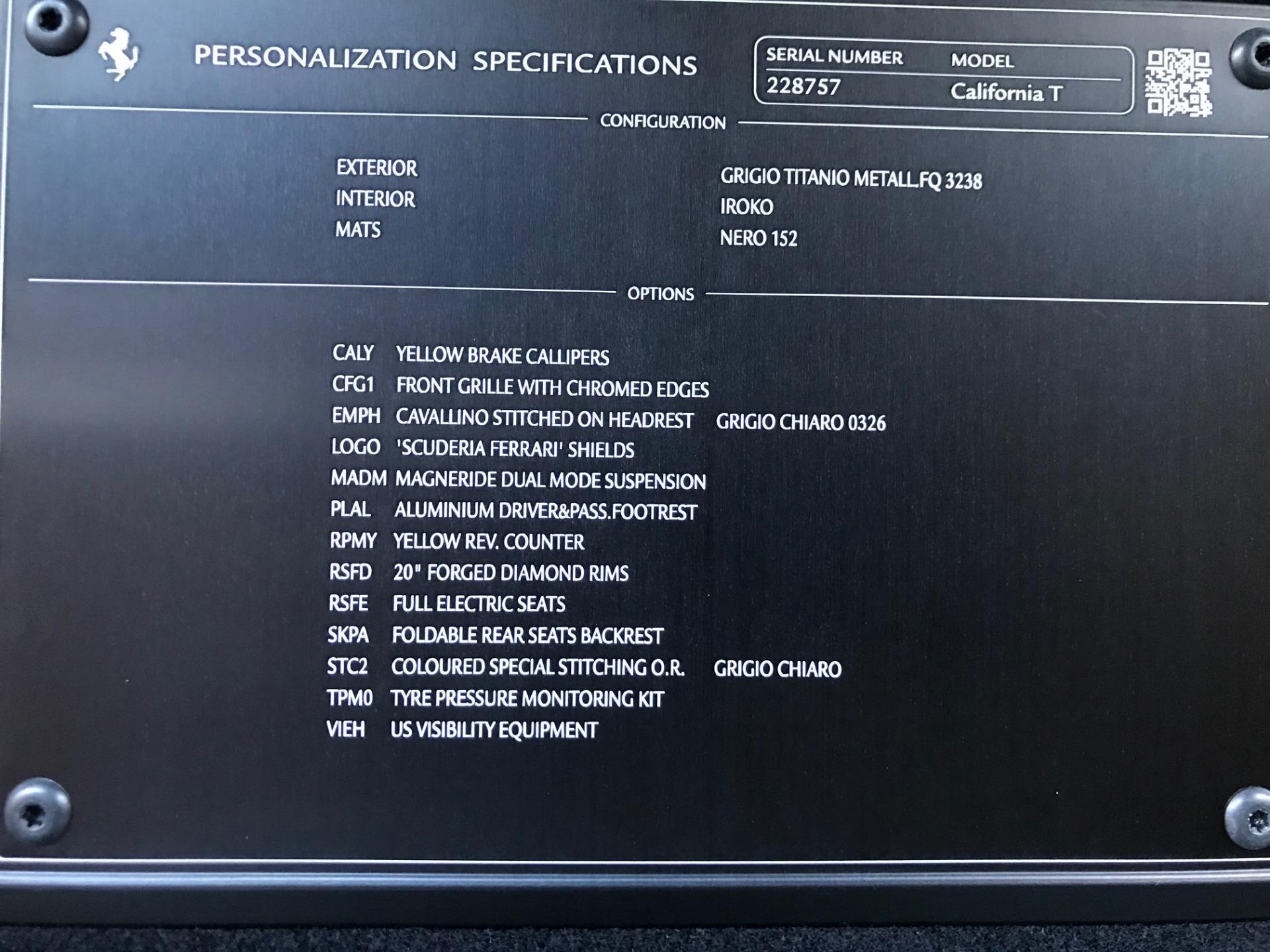 Used 2018 Ferrari California T  For Sale In Greenwich, CT 2287_p34