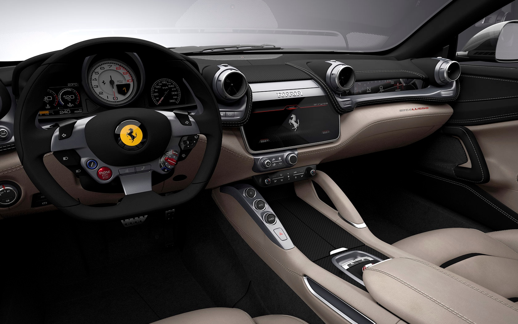 New 2019 Ferrari GTC4LUSSO  For Sale In Greenwich, CT 229_p9