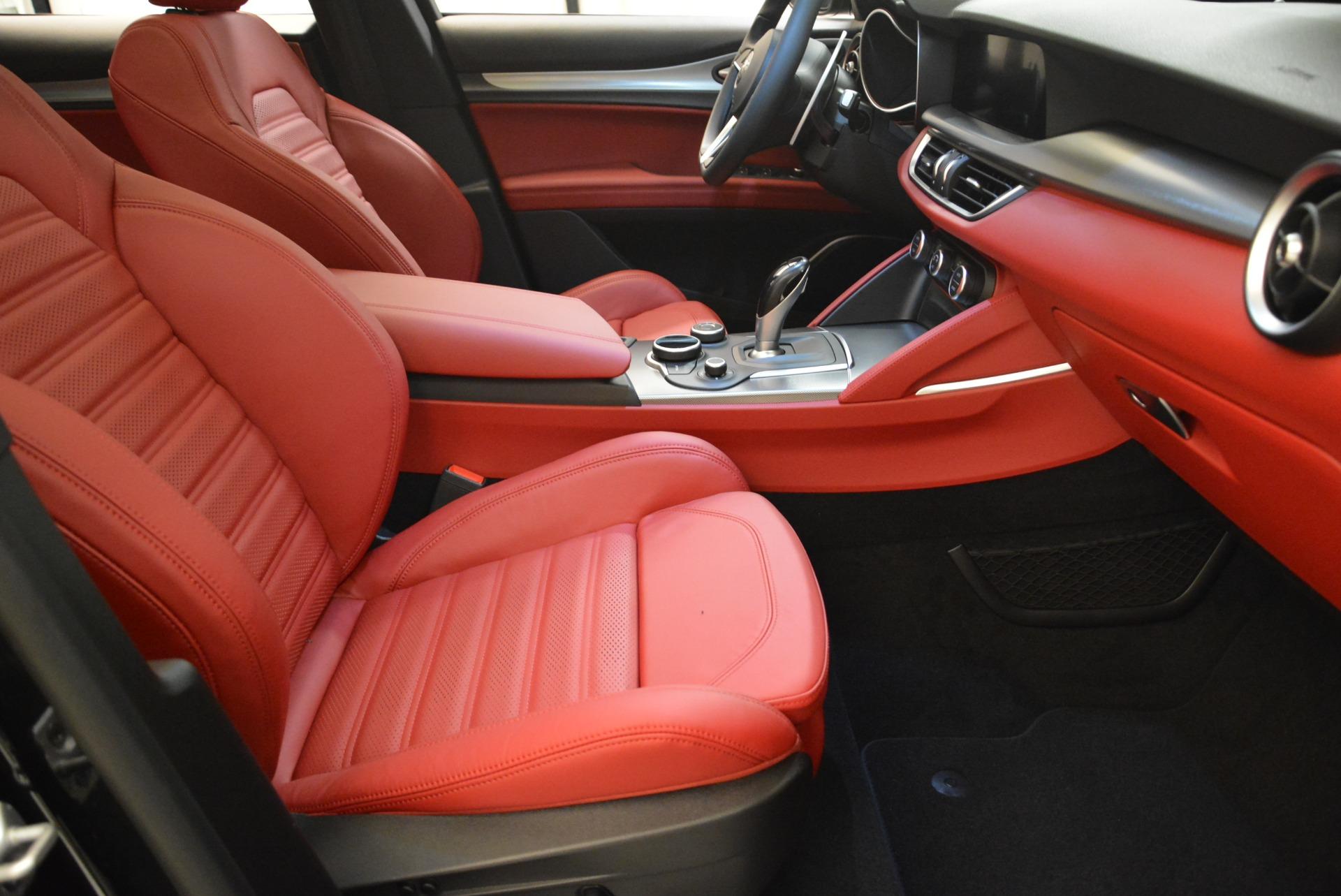 New 2018 Alfa Romeo Stelvio Ti Sport Q4 For Sale In Greenwich, CT 2300_p15