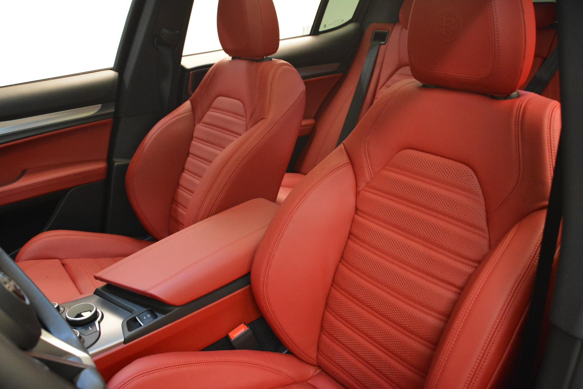 New 2018 Alfa Romeo Stelvio Ti Sport Q4 For Sale In Greenwich, CT 2300_p17
