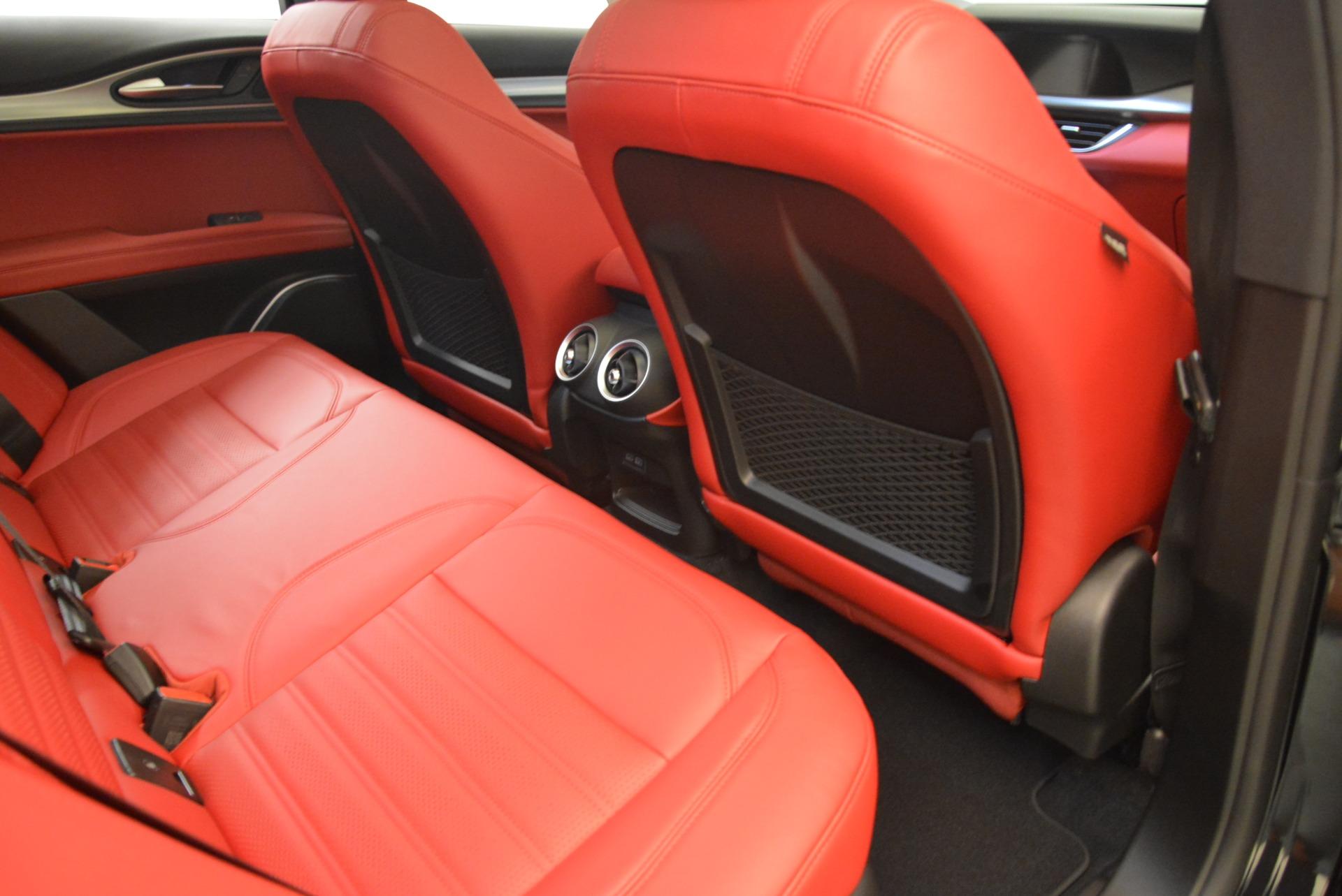 New 2018 Alfa Romeo Stelvio Ti Sport Q4 For Sale In Greenwich, CT 2300_p22