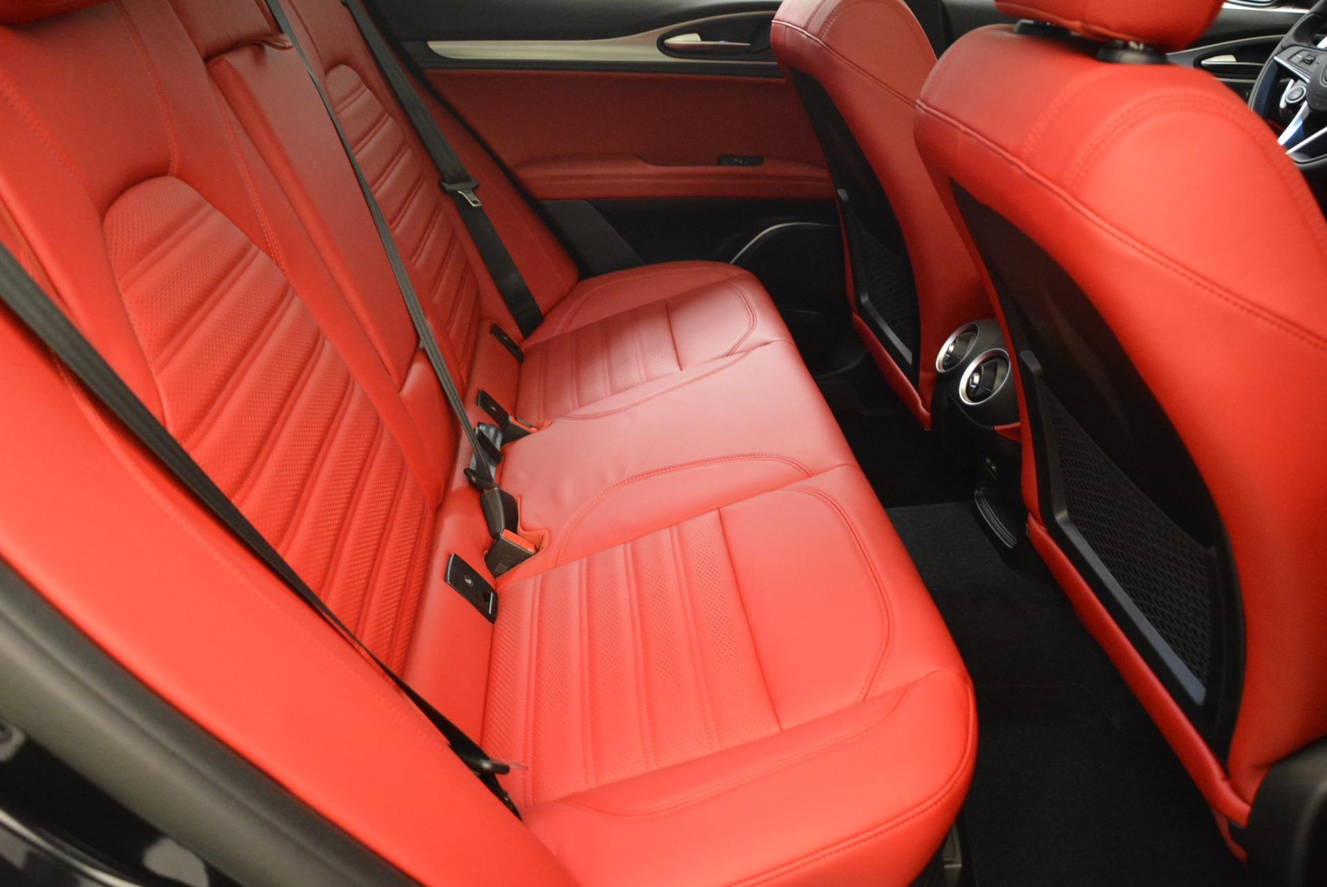 New 2018 Alfa Romeo Stelvio Ti Sport Q4 For Sale In Greenwich, CT 2300_p23