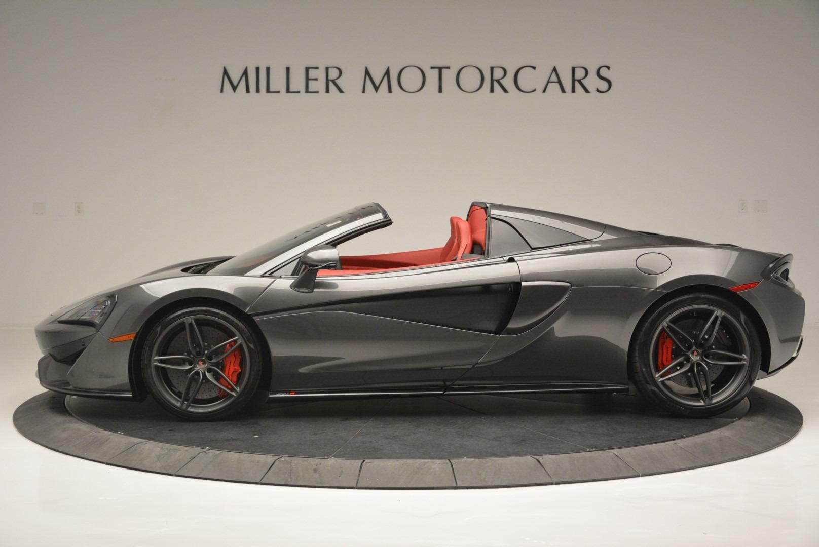 New 2018 McLaren 570S Spider For Sale In Greenwich, CT 2316_p3