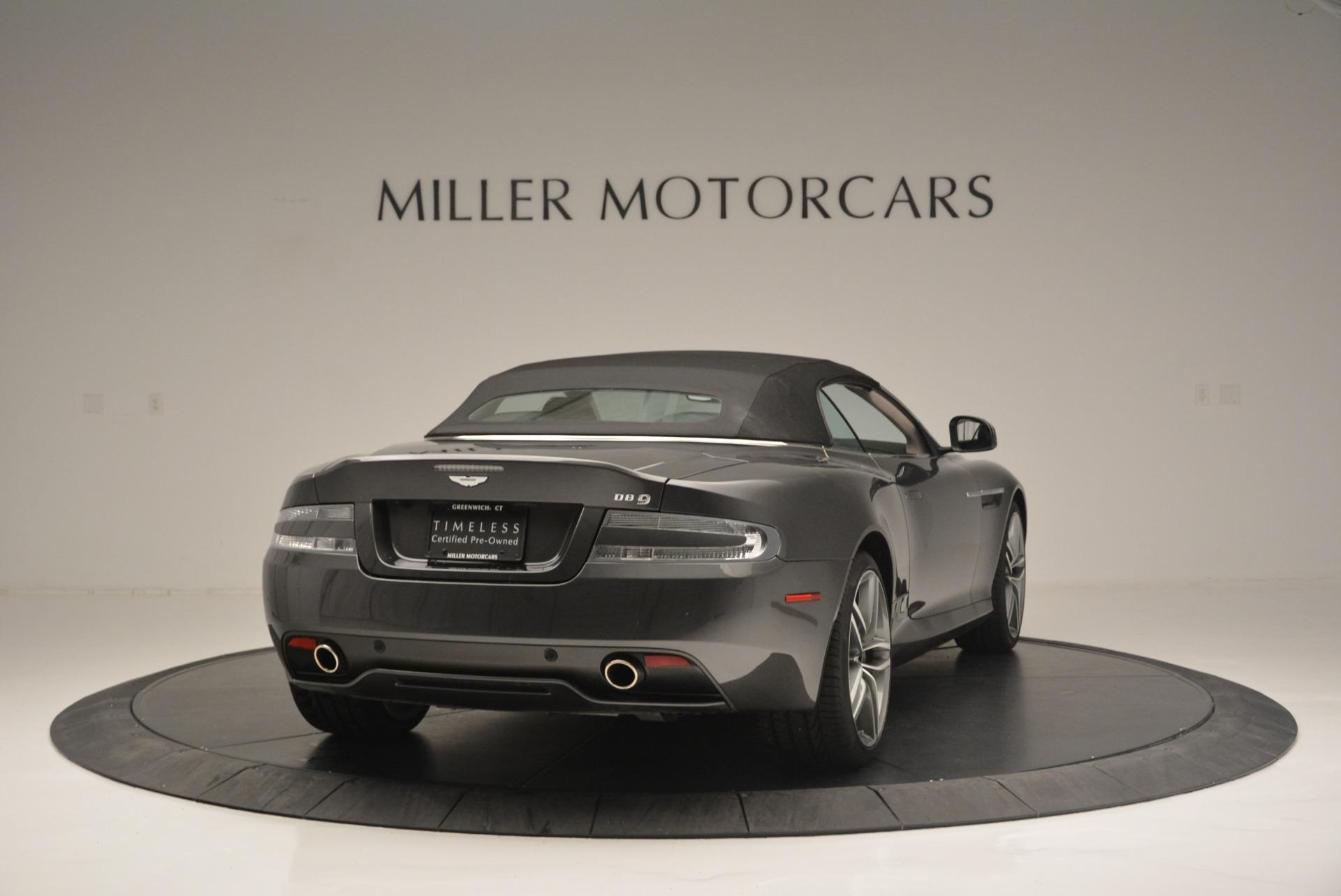 Used 2014 Aston Martin DB9 Volante For Sale In Greenwich, CT 2319_p19