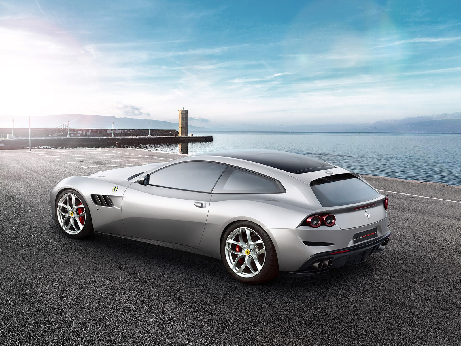 New 2019 Ferrari GTC4LUSSO T  For Sale In Greenwich, CT 232_p2