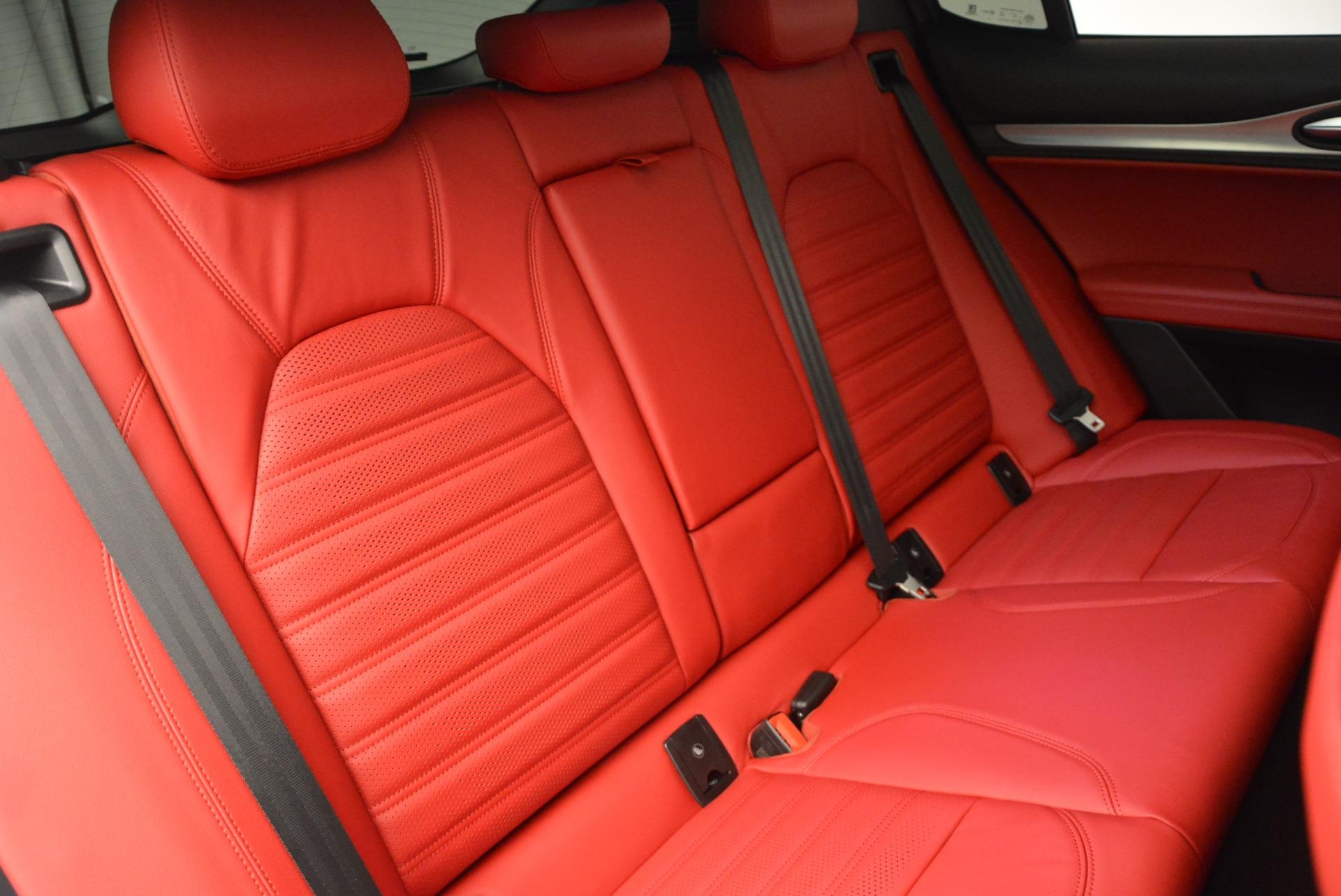 New 2018 Alfa Romeo Stelvio Ti Sport Q4 For Sale In Greenwich, CT 2323_p25