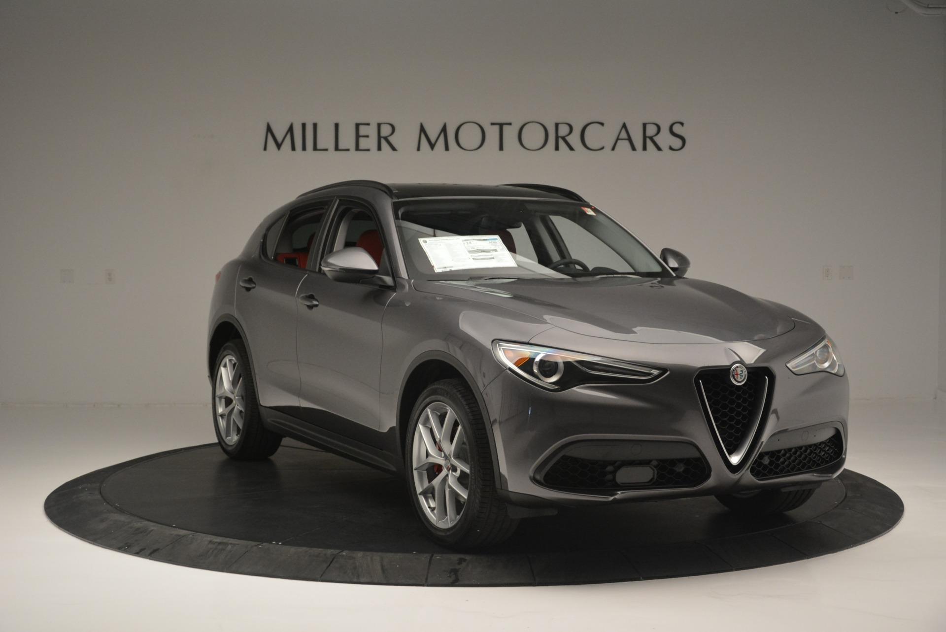 New 2018 Alfa Romeo Stelvio Ti Sport Q4 For Sale In Greenwich, CT 2324_p11