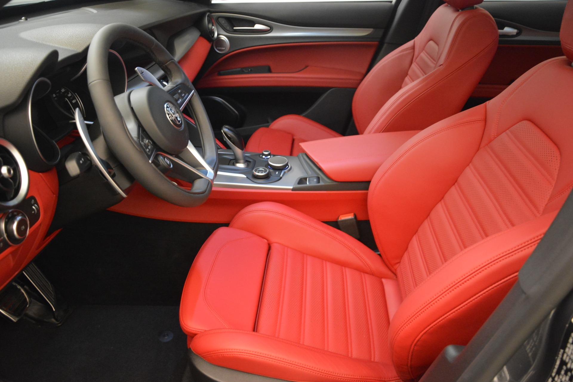 New 2018 Alfa Romeo Stelvio Ti Sport Q4 For Sale In Greenwich, CT 2324_p14