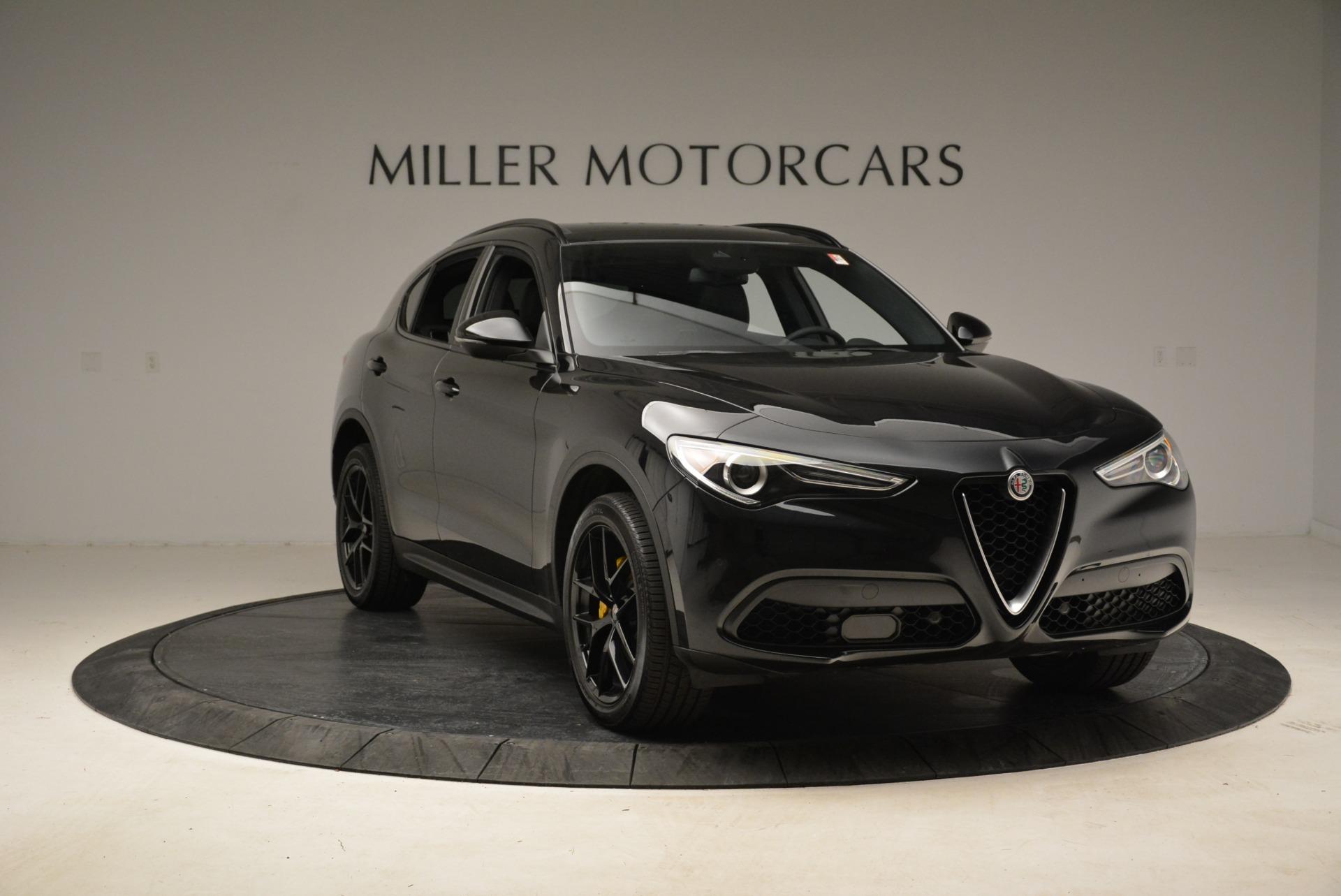 New 2018 Alfa Romeo Stelvio Ti Sport Q4 For Sale In Greenwich, CT 2325_p11