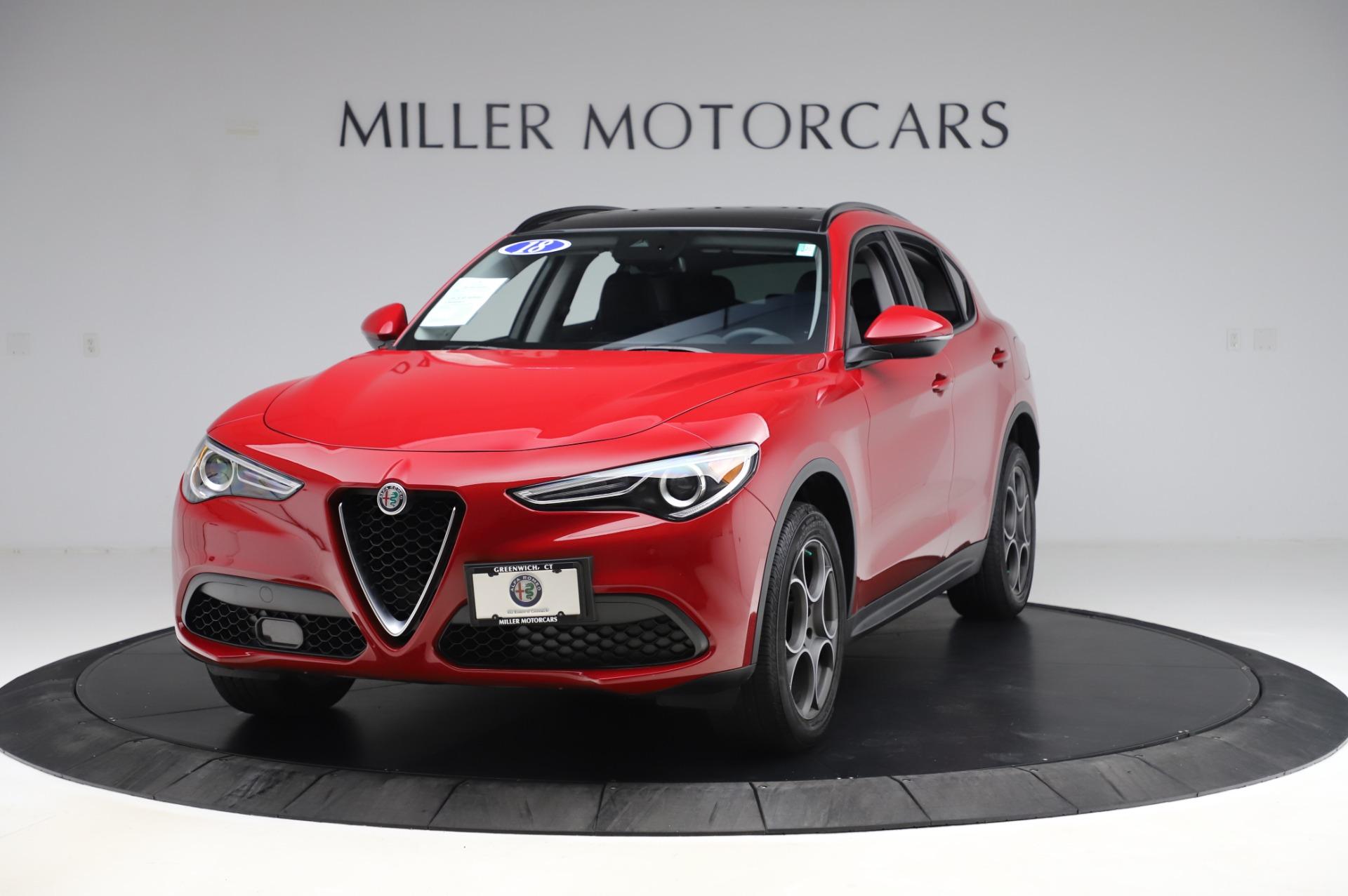 New 2018 Alfa Romeo Stelvio Sport Q4 For Sale In Greenwich, CT 2342_main