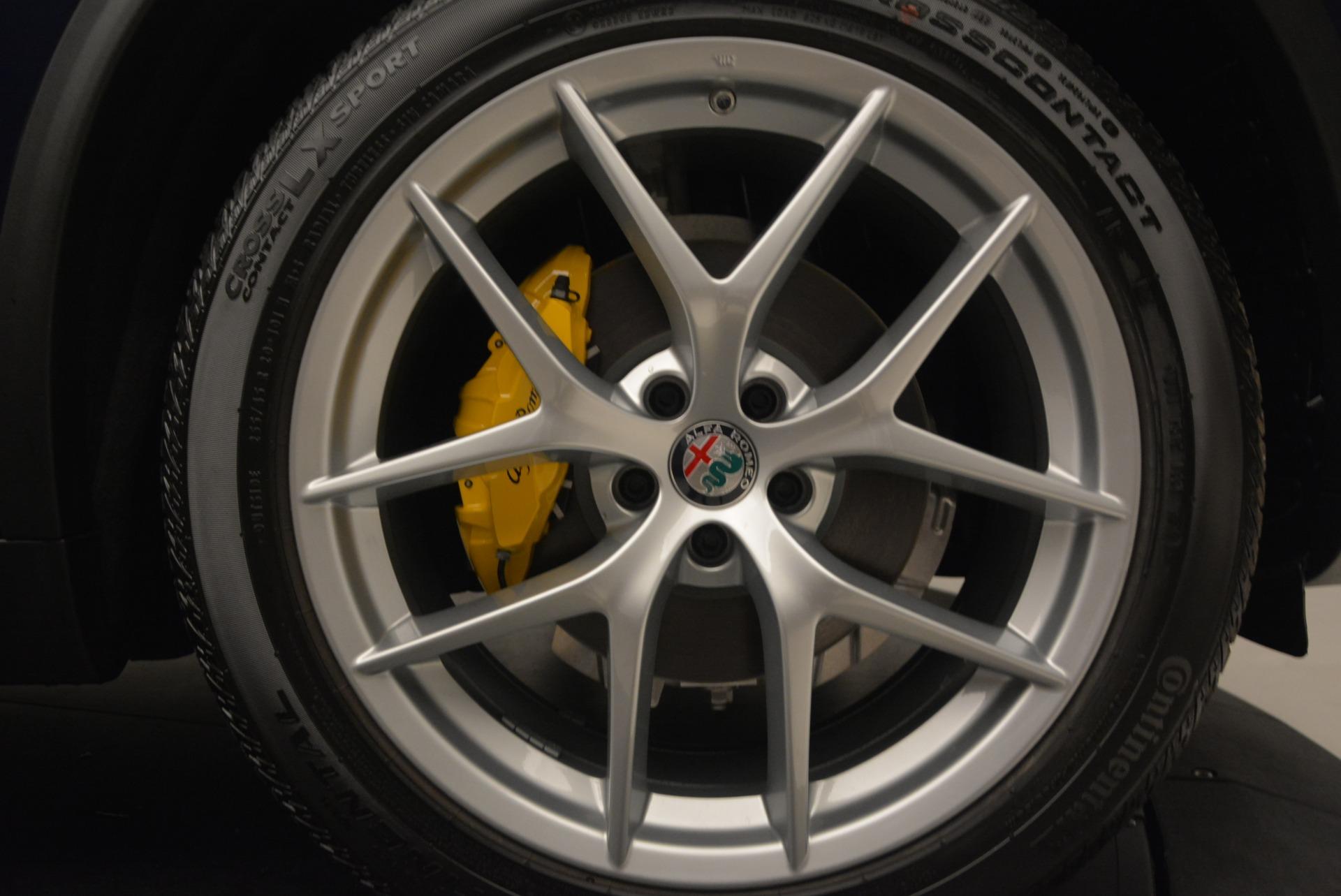New 2018 Alfa Romeo Stelvio Ti Q4 For Sale In Greenwich, CT 2349_p26