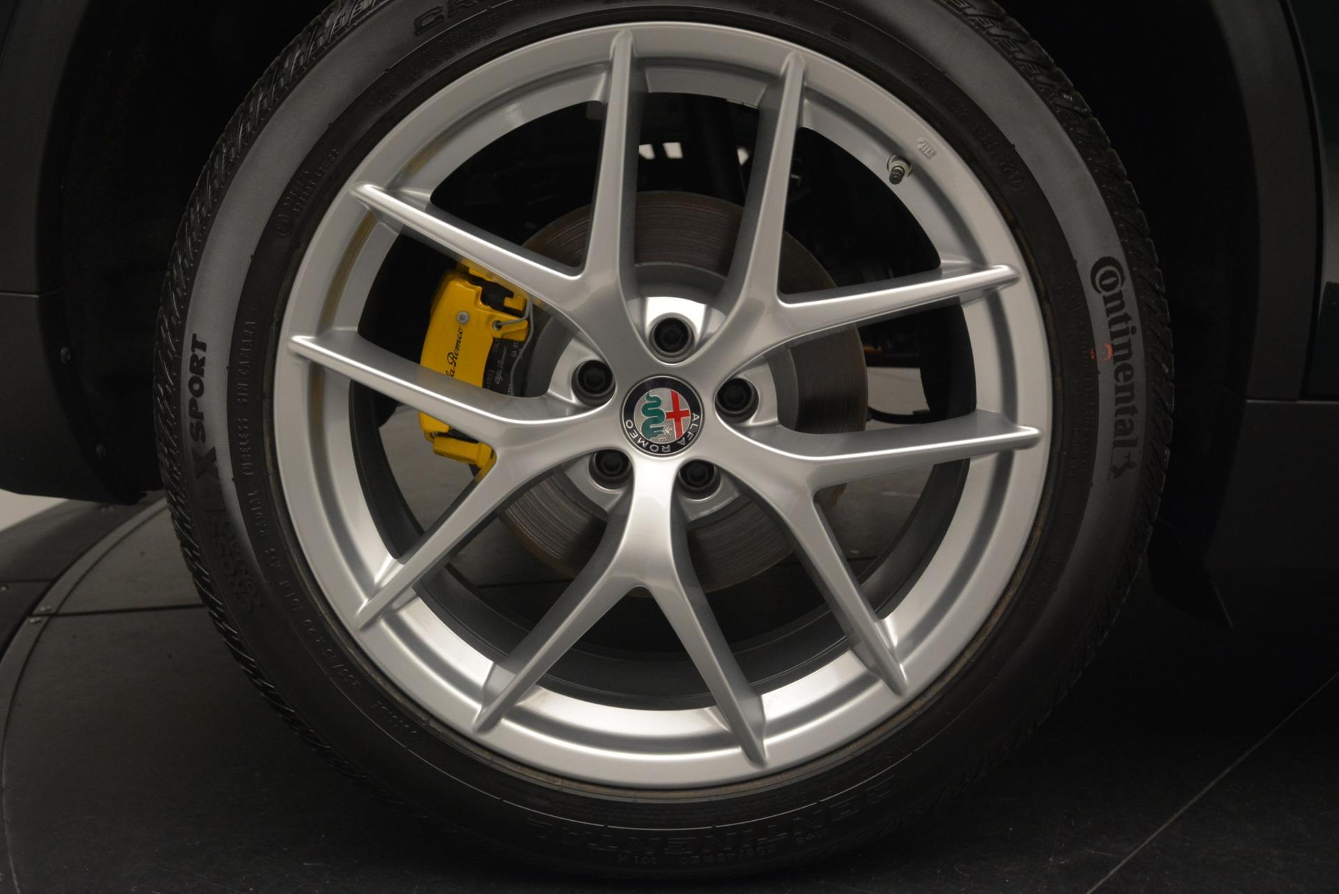 New 2018 Alfa Romeo Stelvio Ti Sport Q4 For Sale In Greenwich, CT 2353_p29