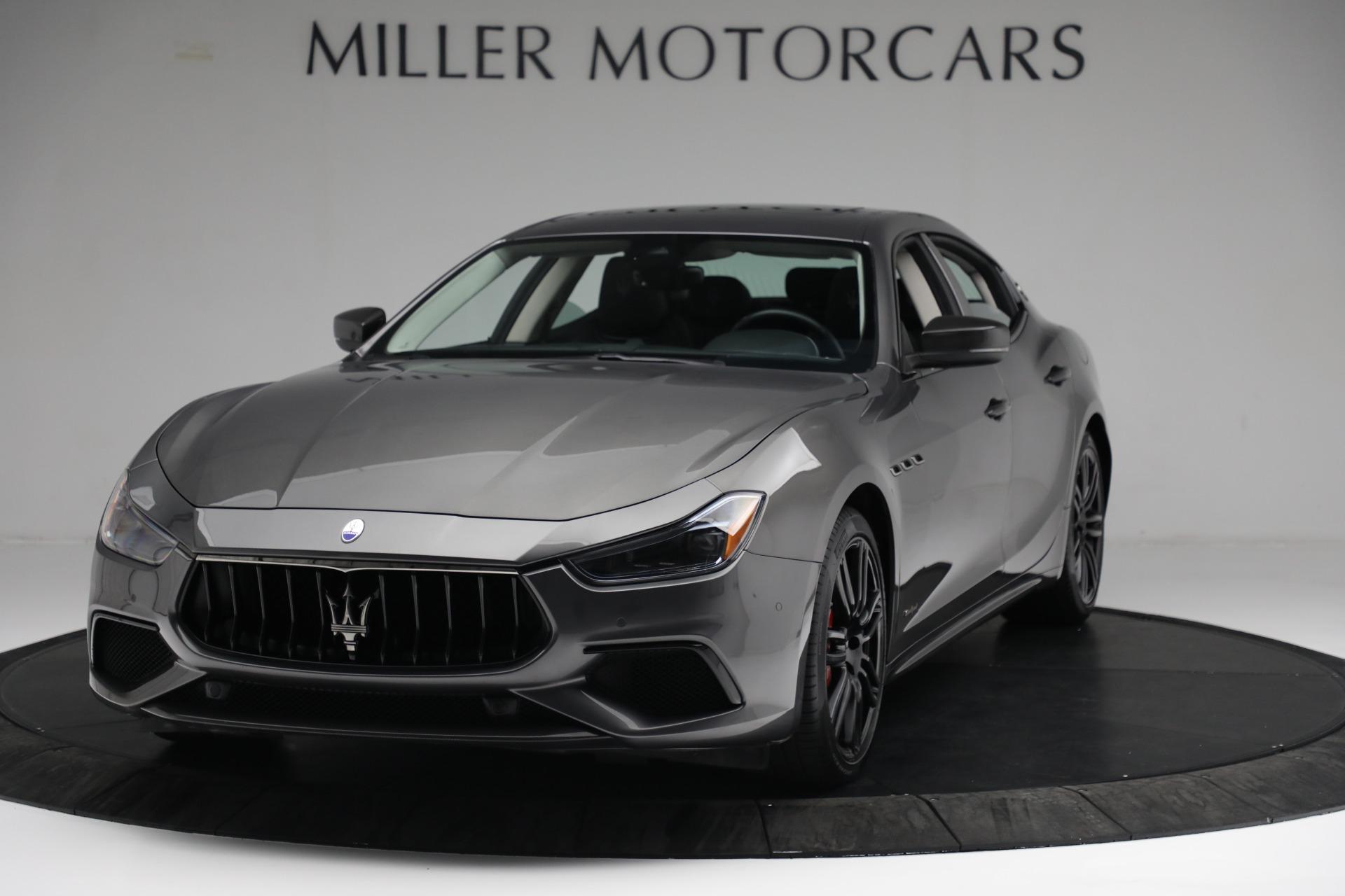 New 2018 Maserati Ghibli SQ4 GranSport Nerissimo For Sale In Greenwich, CT 2355_main