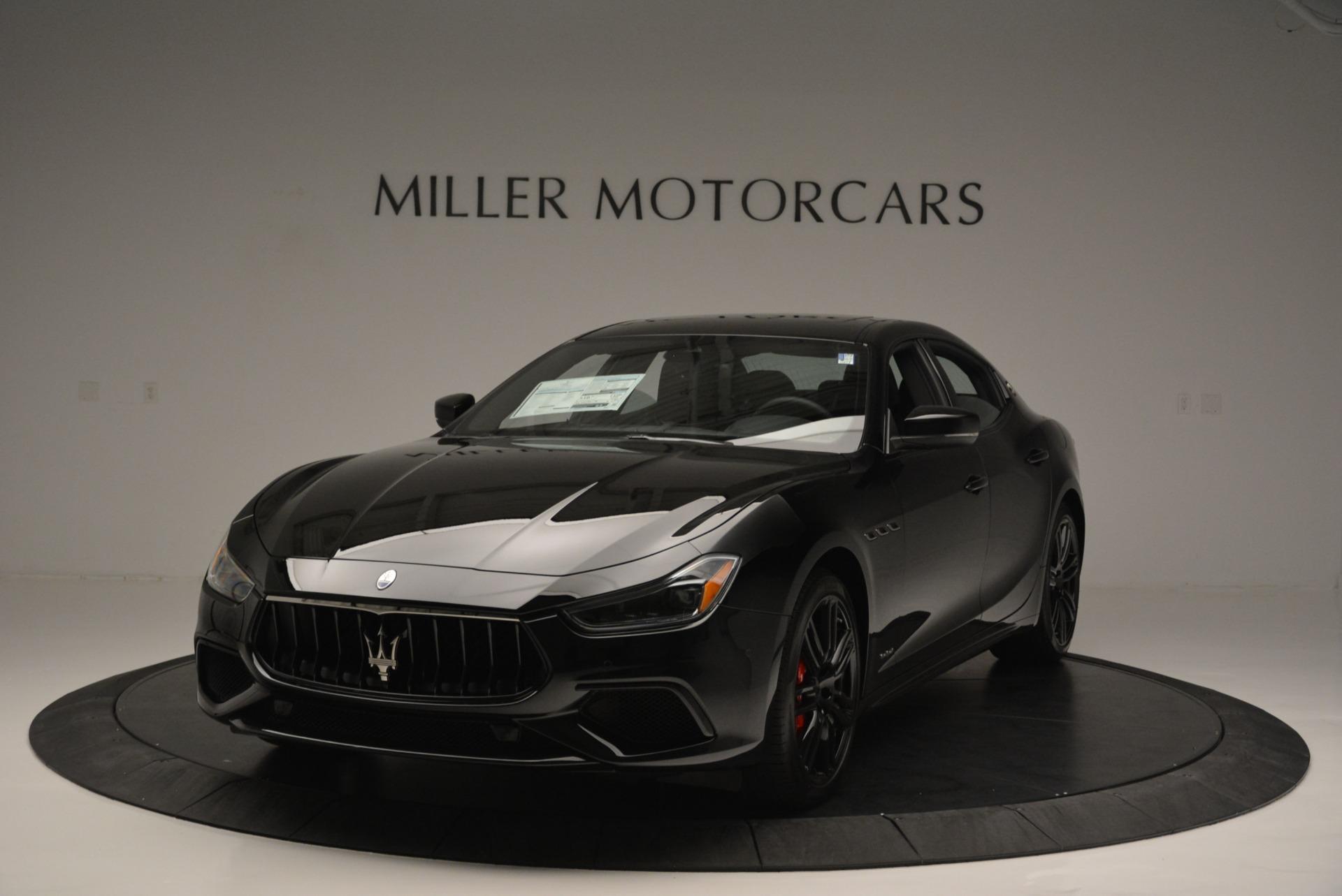 New 2018 Maserati Ghibli SQ4 GranSport Nerissimo For Sale In Greenwich, CT 2368_main