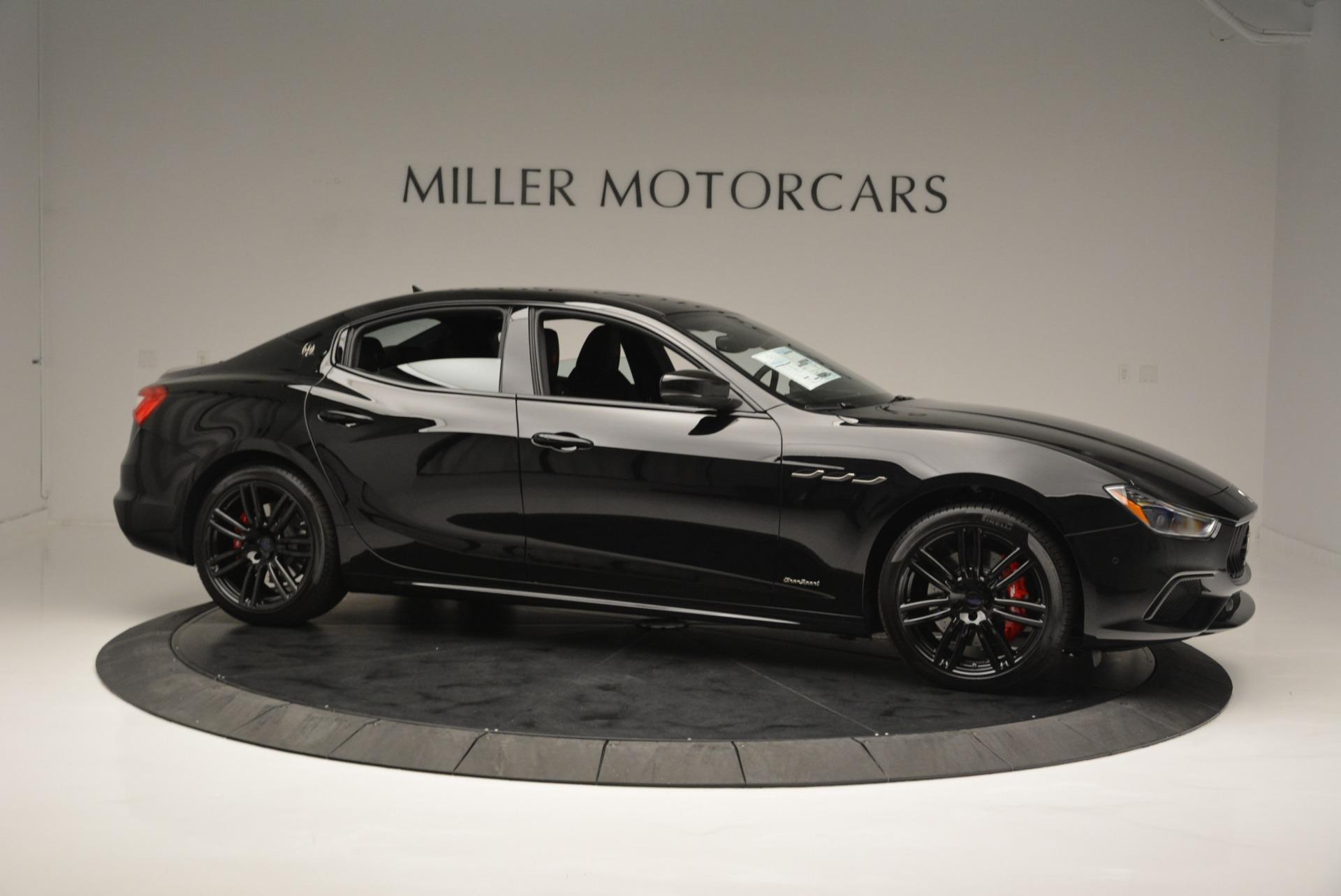 New 2018 Maserati Ghibli SQ4 GranSport Nerissimo For Sale In Greenwich, CT 2368_p10