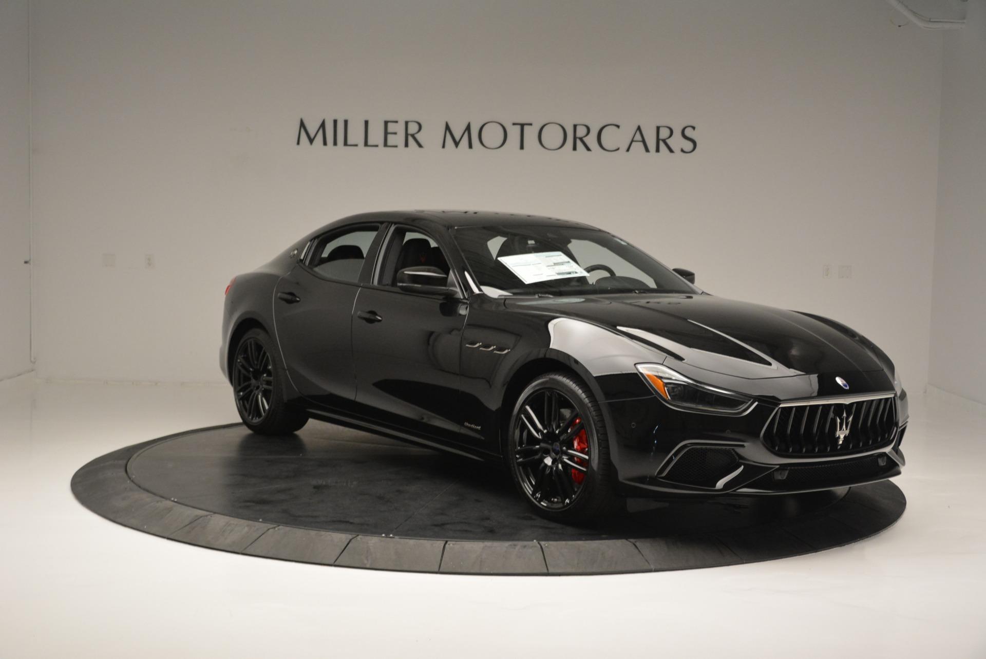 New 2018 Maserati Ghibli SQ4 GranSport Nerissimo For Sale In Greenwich, CT 2368_p11