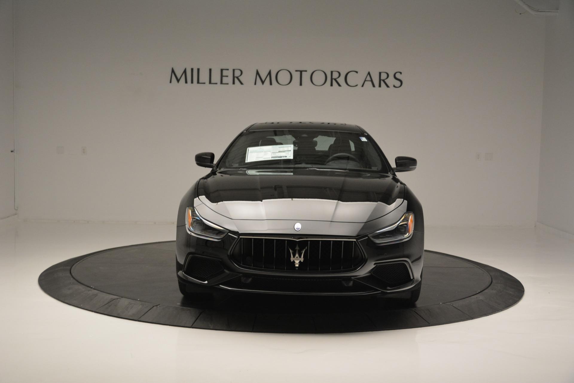 New 2018 Maserati Ghibli SQ4 GranSport Nerissimo For Sale In Greenwich, CT 2368_p12