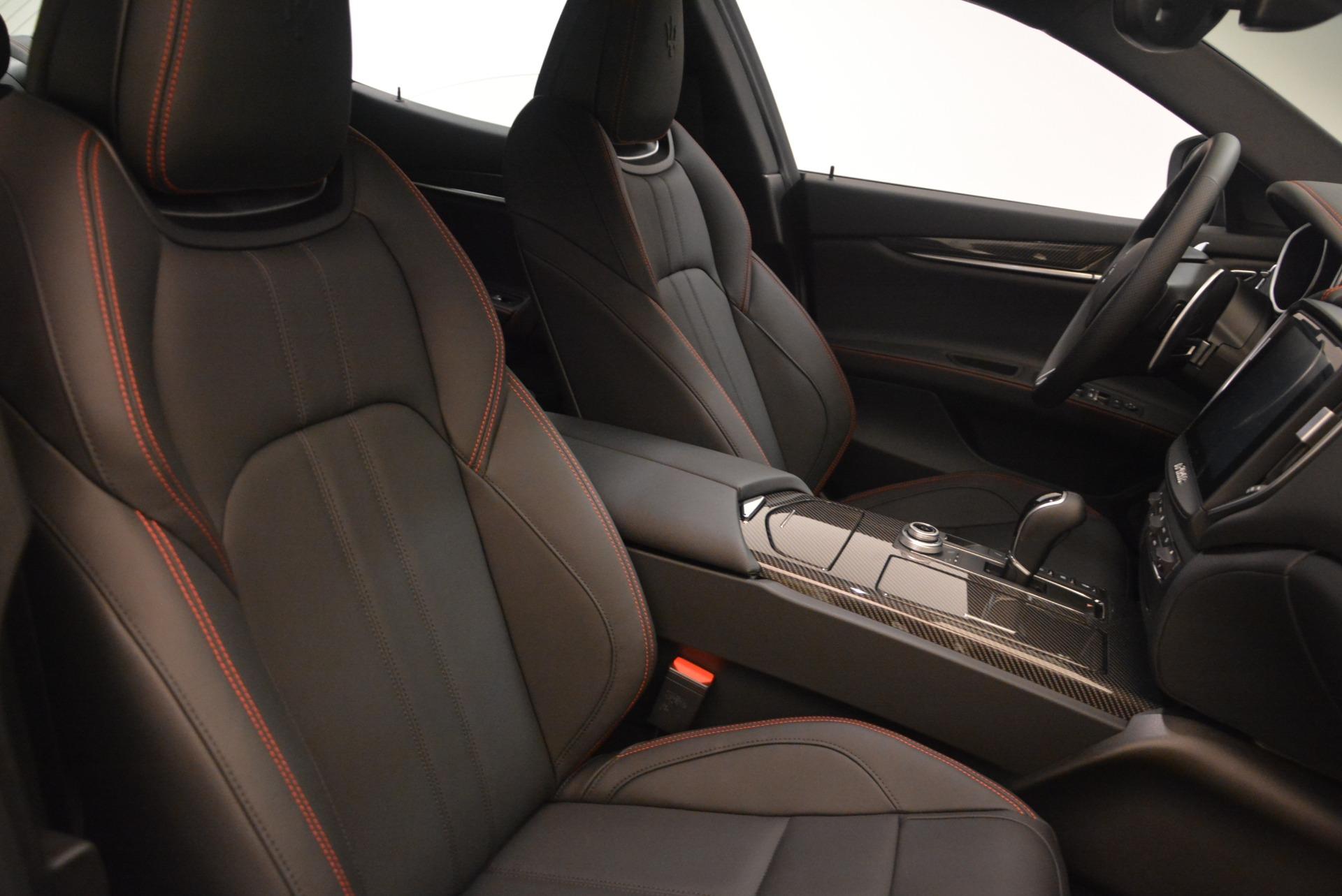 New 2018 Maserati Ghibli SQ4 GranSport Nerissimo For Sale In Greenwich, CT 2368_p18