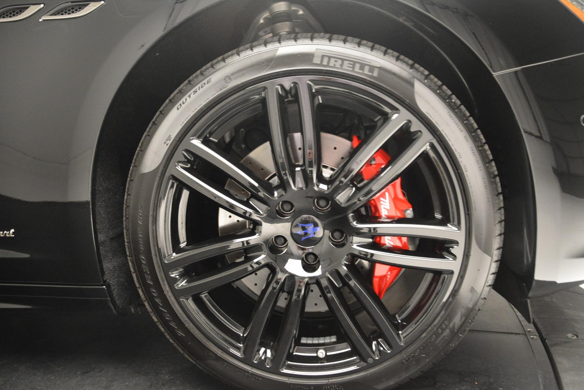 New 2018 Maserati Ghibli SQ4 GranSport Nerissimo For Sale In Greenwich, CT 2368_p25