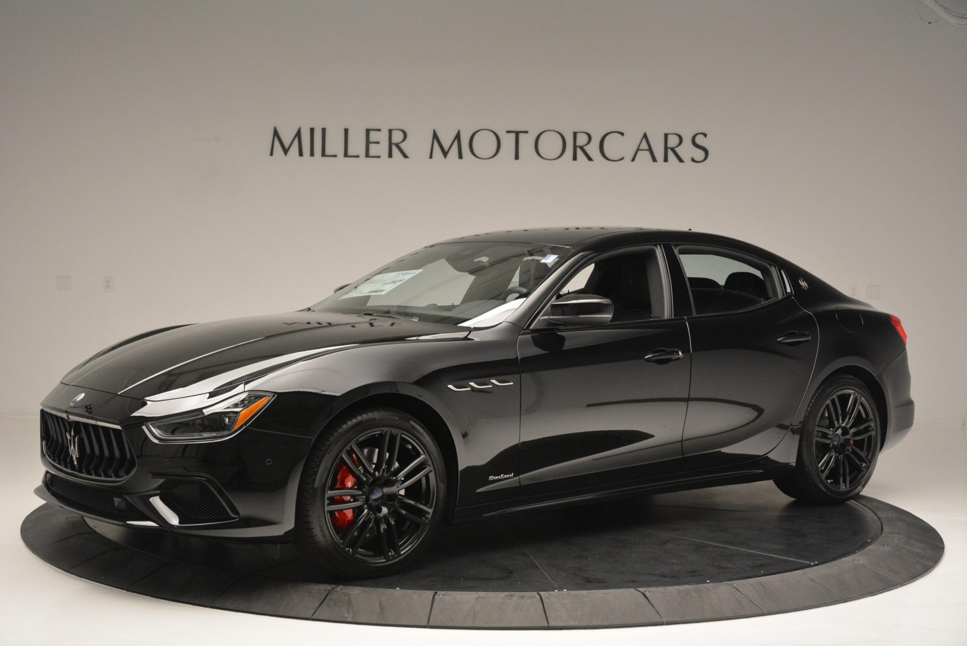 New 2018 Maserati Ghibli SQ4 GranSport Nerissimo For Sale In Greenwich, CT 2368_p2