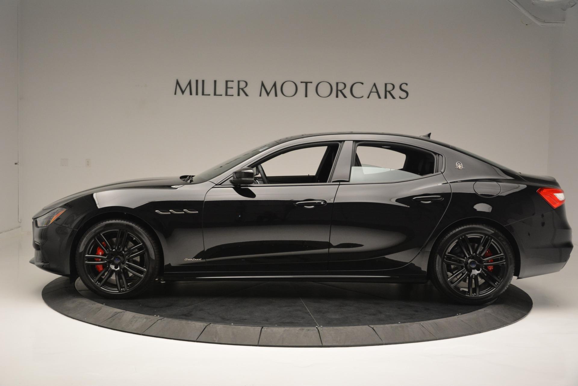 New 2018 Maserati Ghibli SQ4 GranSport Nerissimo For Sale In Greenwich, CT 2368_p3