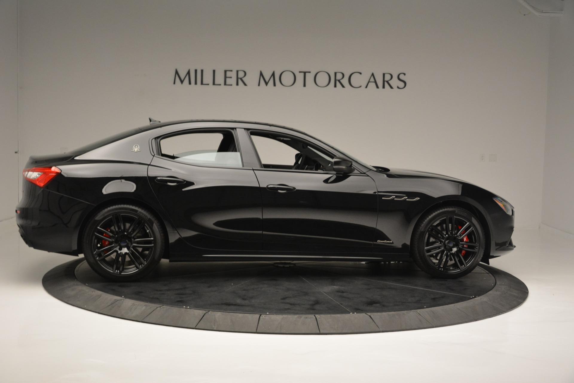 New 2018 Maserati Ghibli SQ4 GranSport Nerissimo For Sale In Greenwich, CT 2368_p9