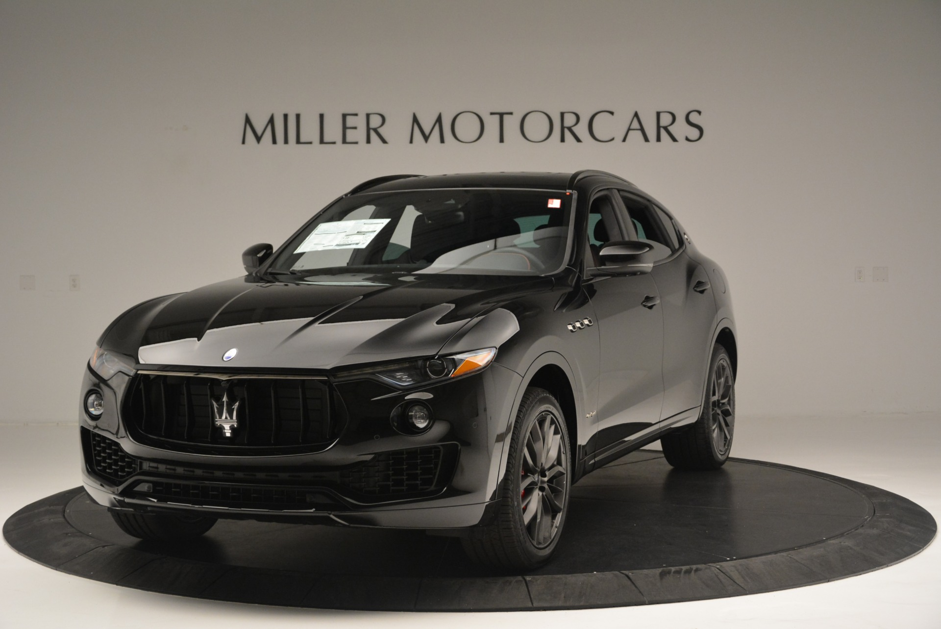 New 2018 Maserati Levante S Q4 GranSport Nerissimo For Sale In Greenwich, CT 2370_main