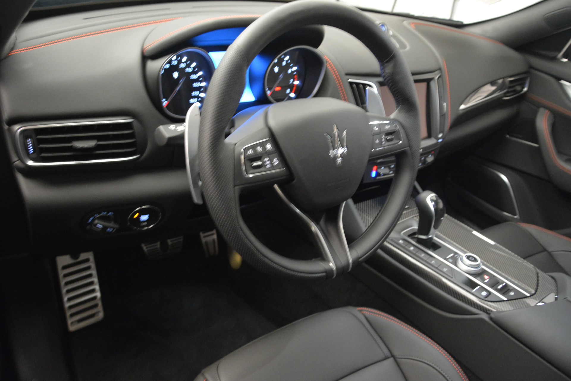 New 2018 Maserati Levante S Q4 GranSport Nerissimo For Sale In Greenwich, CT 2370_p13