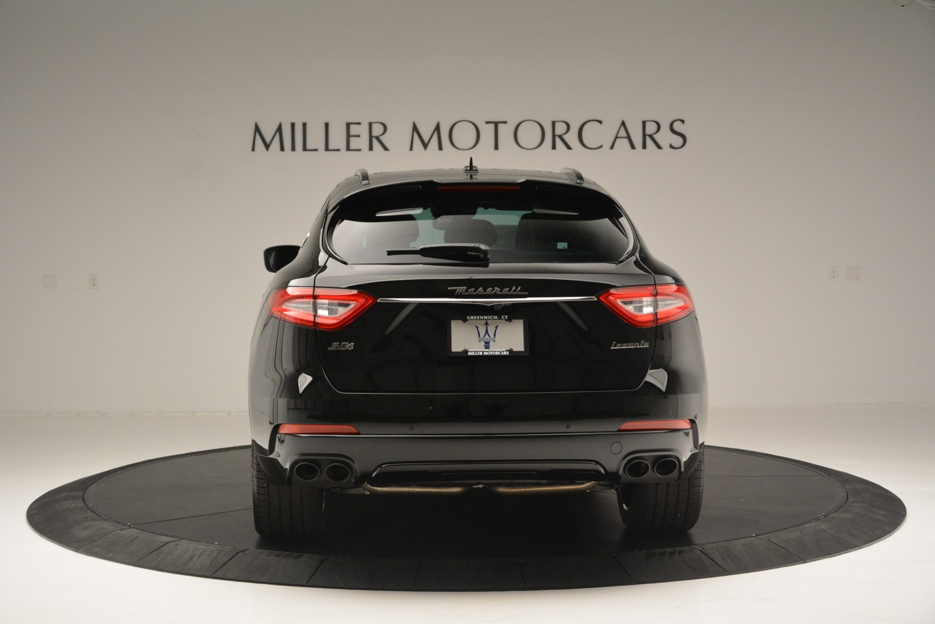New 2018 Maserati Levante S Q4 GranSport Nerissimo For Sale In Greenwich, CT 2370_p6