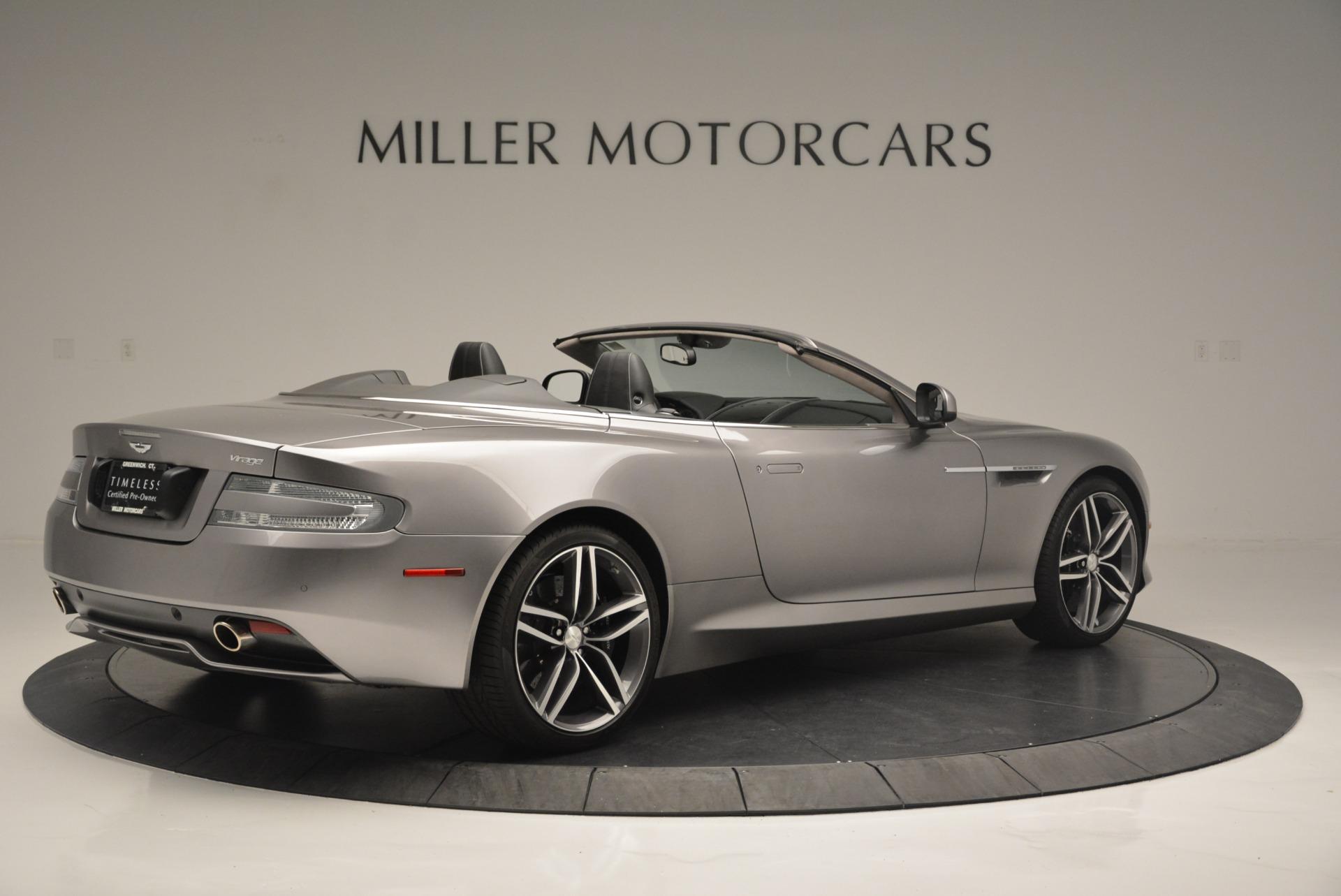Used 2012 Aston Martin Virage Volante For Sale In Greenwich, CT 2378_p8