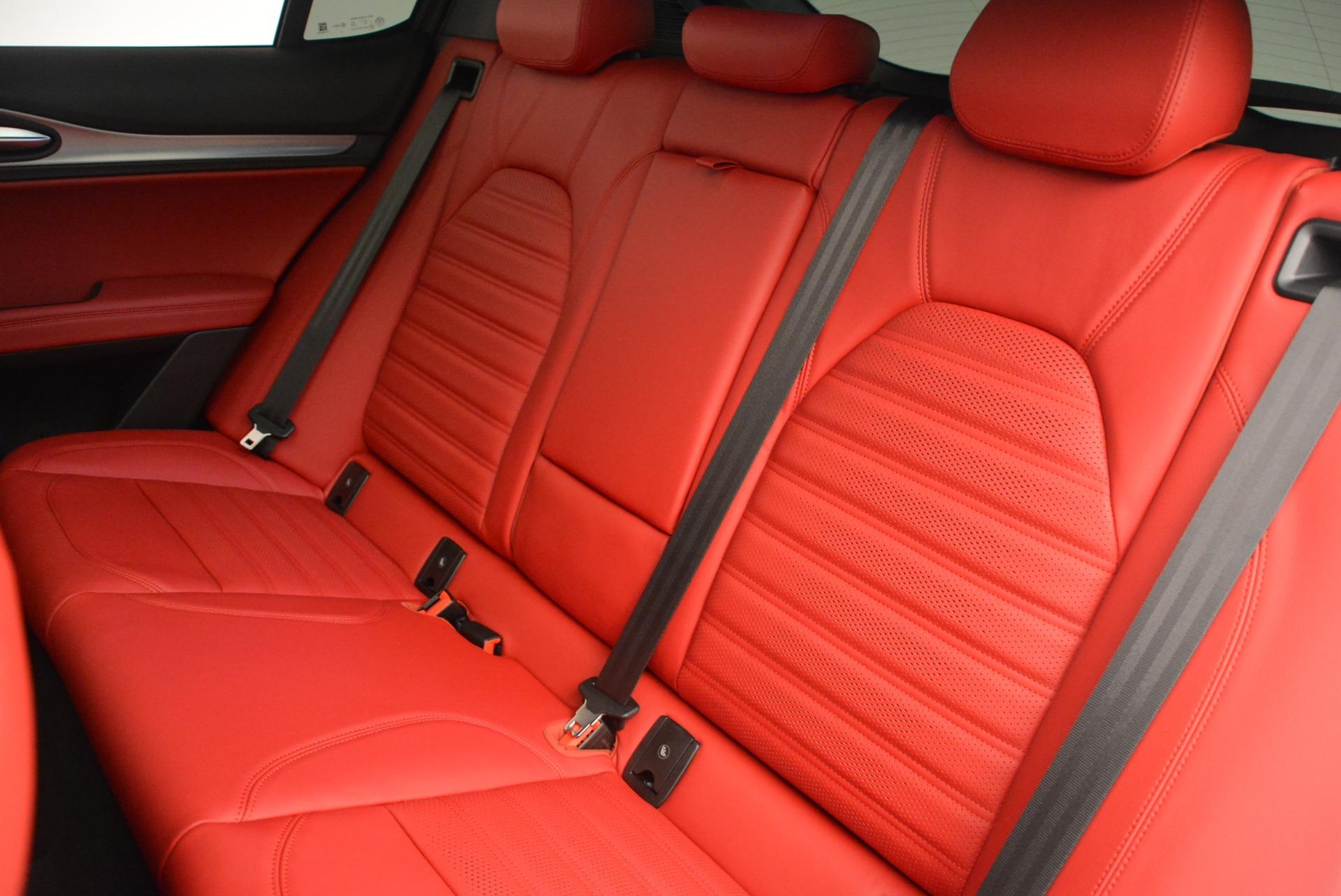 New 2018 Alfa Romeo Stelvio Ti Sport Q4 For Sale In Greenwich, CT 2381_p21