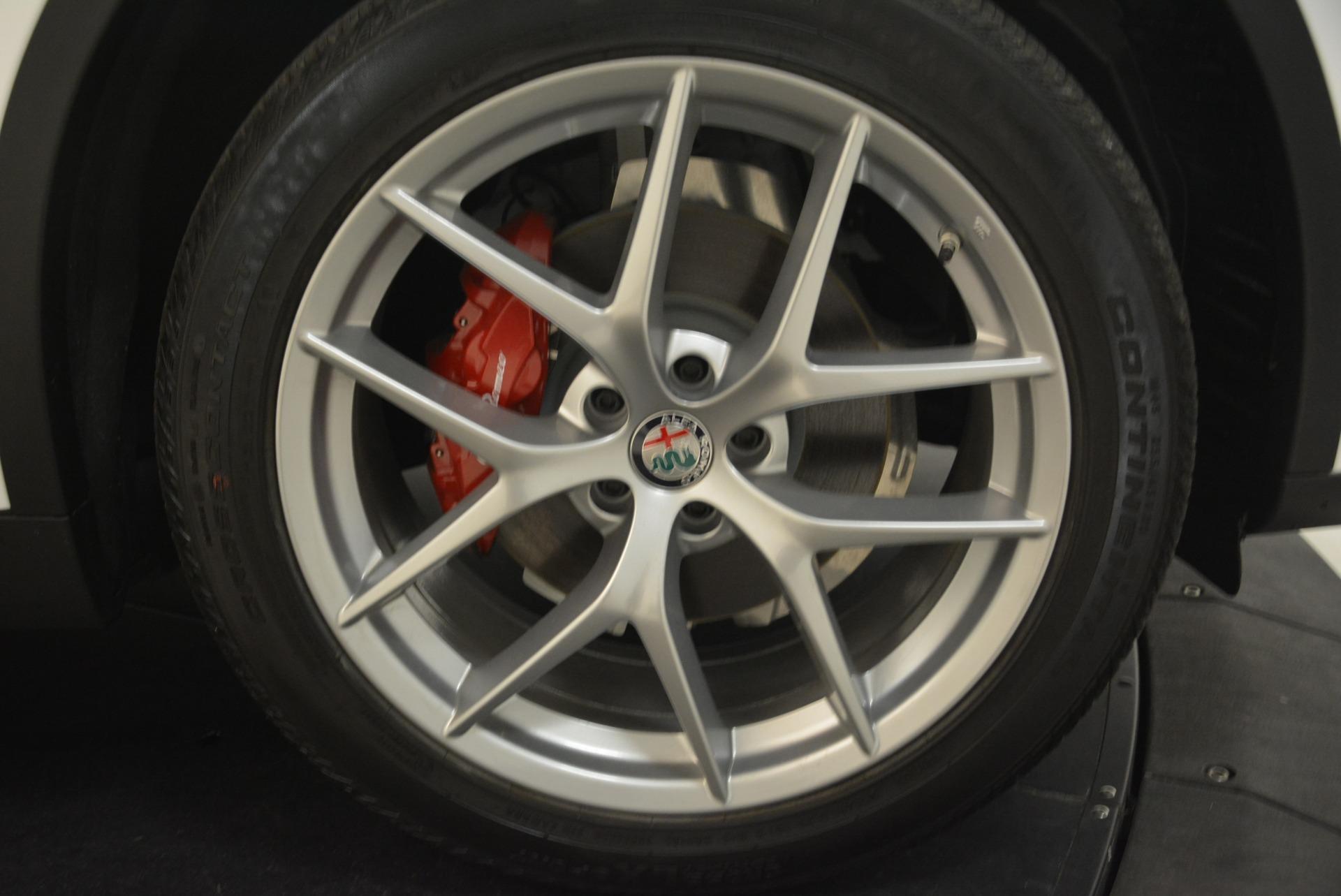 New 2018 Alfa Romeo Stelvio Ti Sport Q4 For Sale In Greenwich, CT 2381_p25