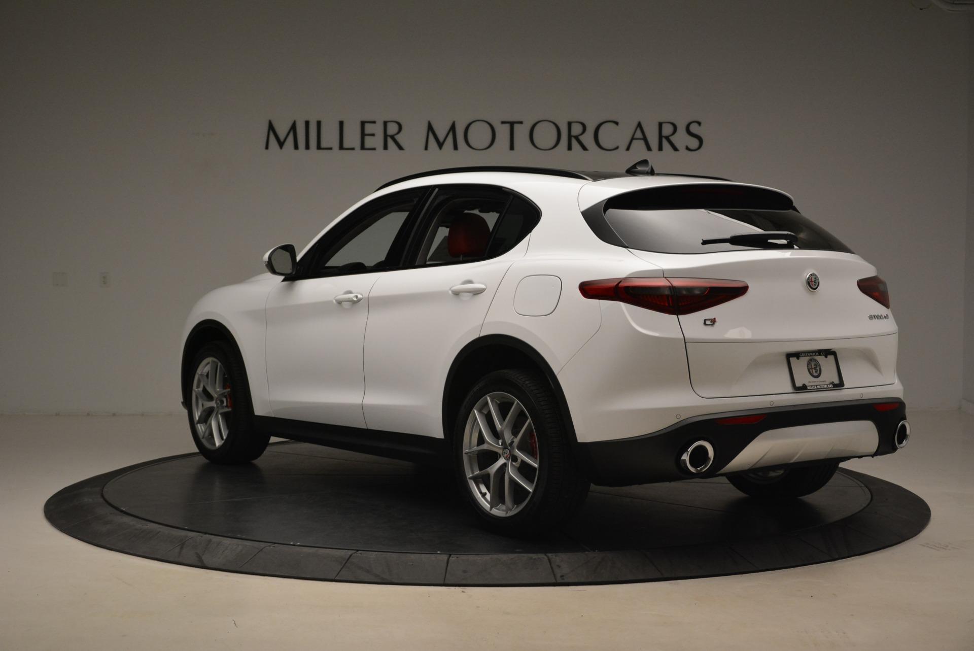 New 2018 Alfa Romeo Stelvio Ti Sport Q4 For Sale In Greenwich, CT 2381_p5