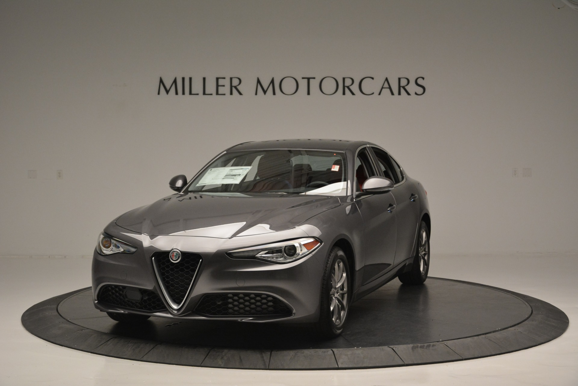 New 2018 Alfa Romeo Giulia Q4 For Sale In Greenwich, CT 2383_main
