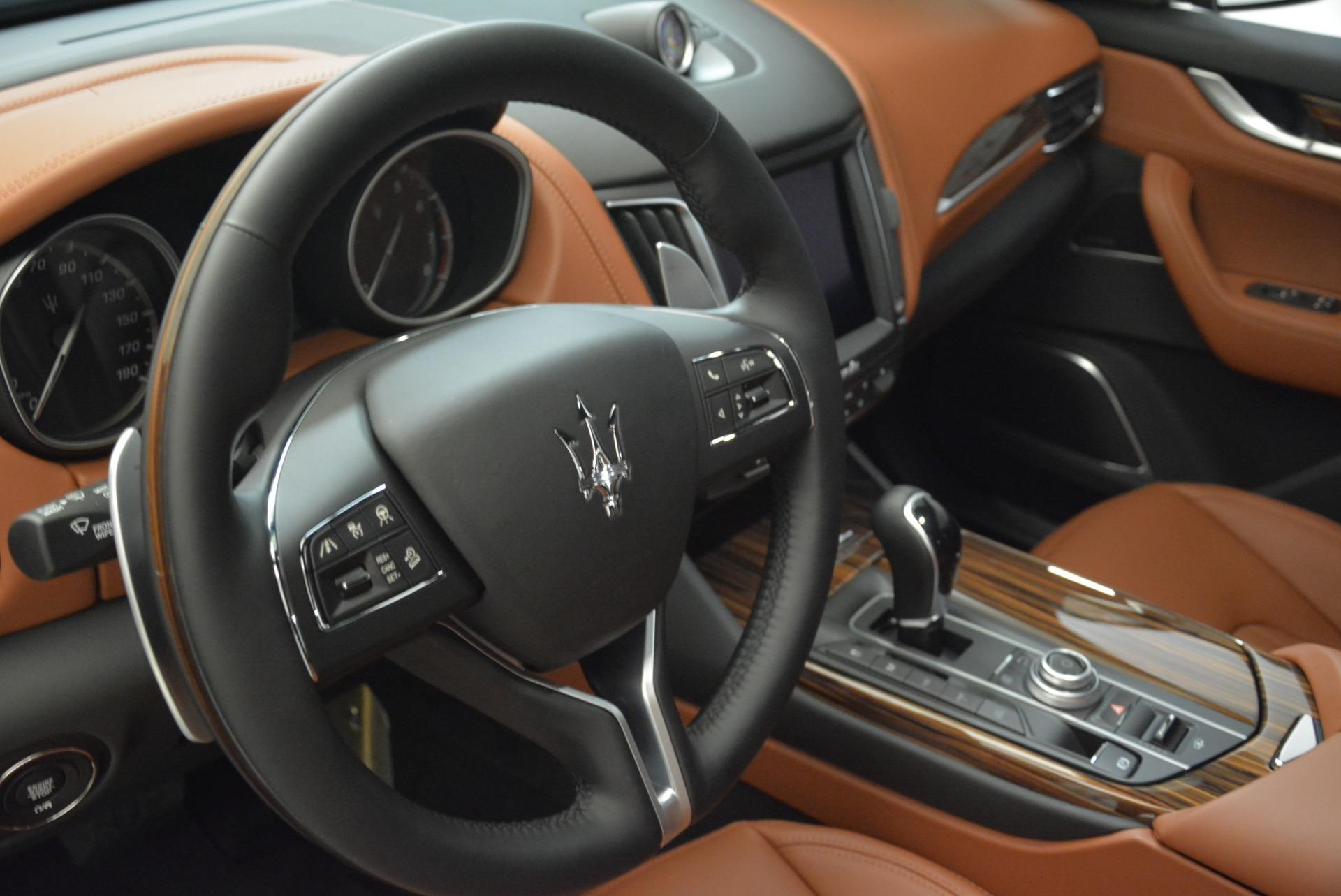 New 2018 Maserati Levante S Q4 GranLusso For Sale In Greenwich, CT 2384_p11