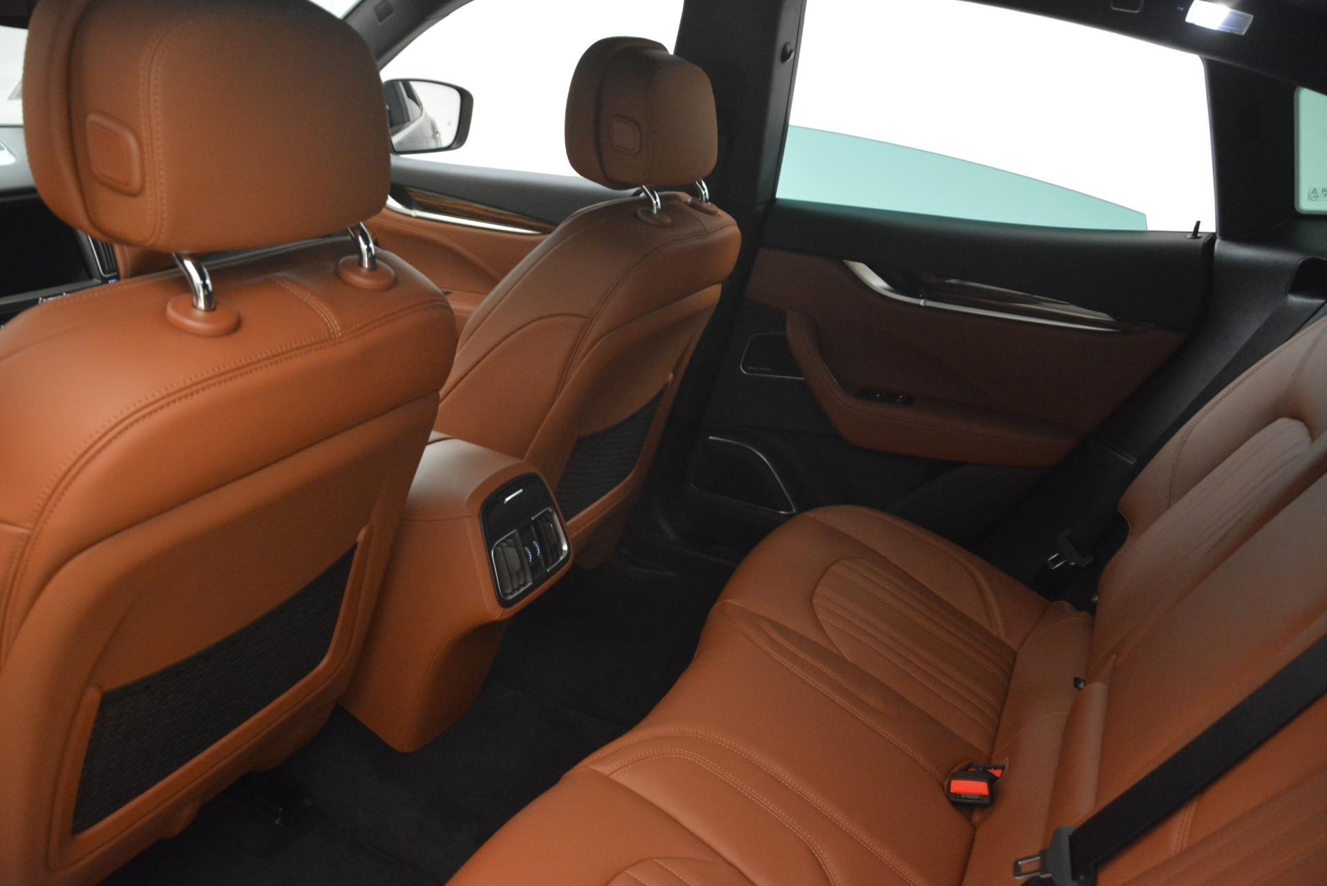 New 2018 Maserati Levante S Q4 GranLusso For Sale In Greenwich, CT 2384_p19