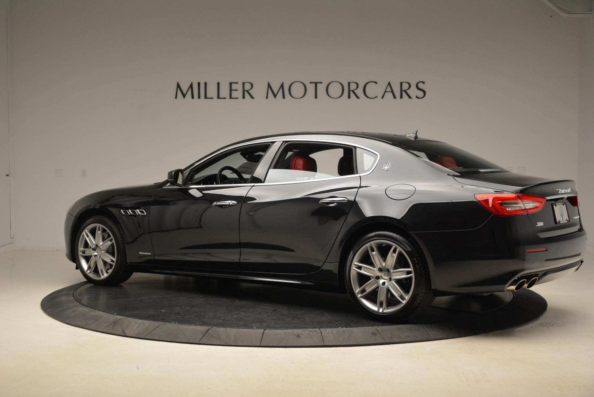 New 2018 Maserati Quattroporte S Q4 GranLusso For Sale In Greenwich, CT 2391_p4