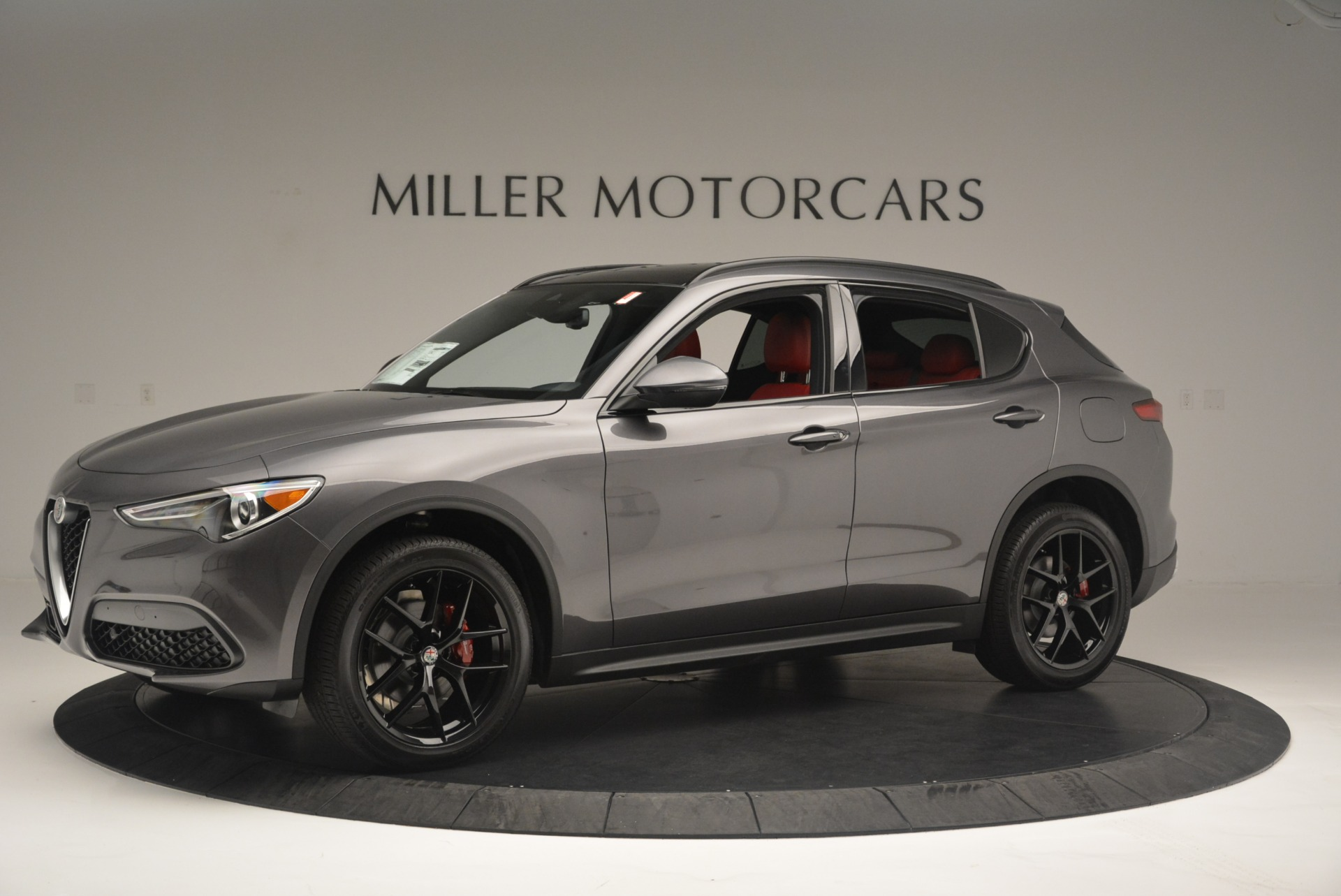 New 2018 Alfa Romeo Stelvio Ti Sport Q4 For Sale In Greenwich, CT 2393_p2