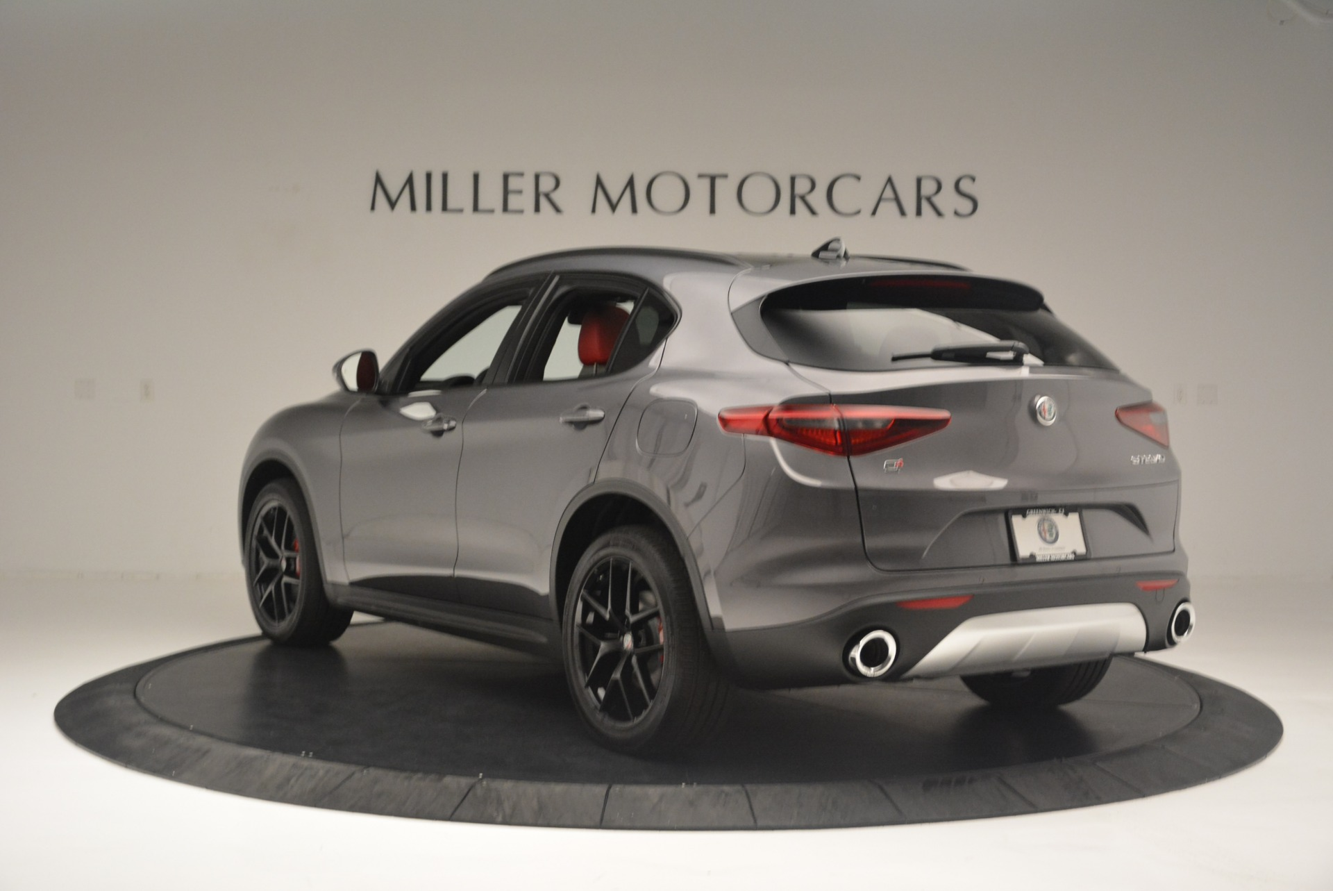 New 2018 Alfa Romeo Stelvio Ti Sport Q4 For Sale In Greenwich, CT 2393_p5