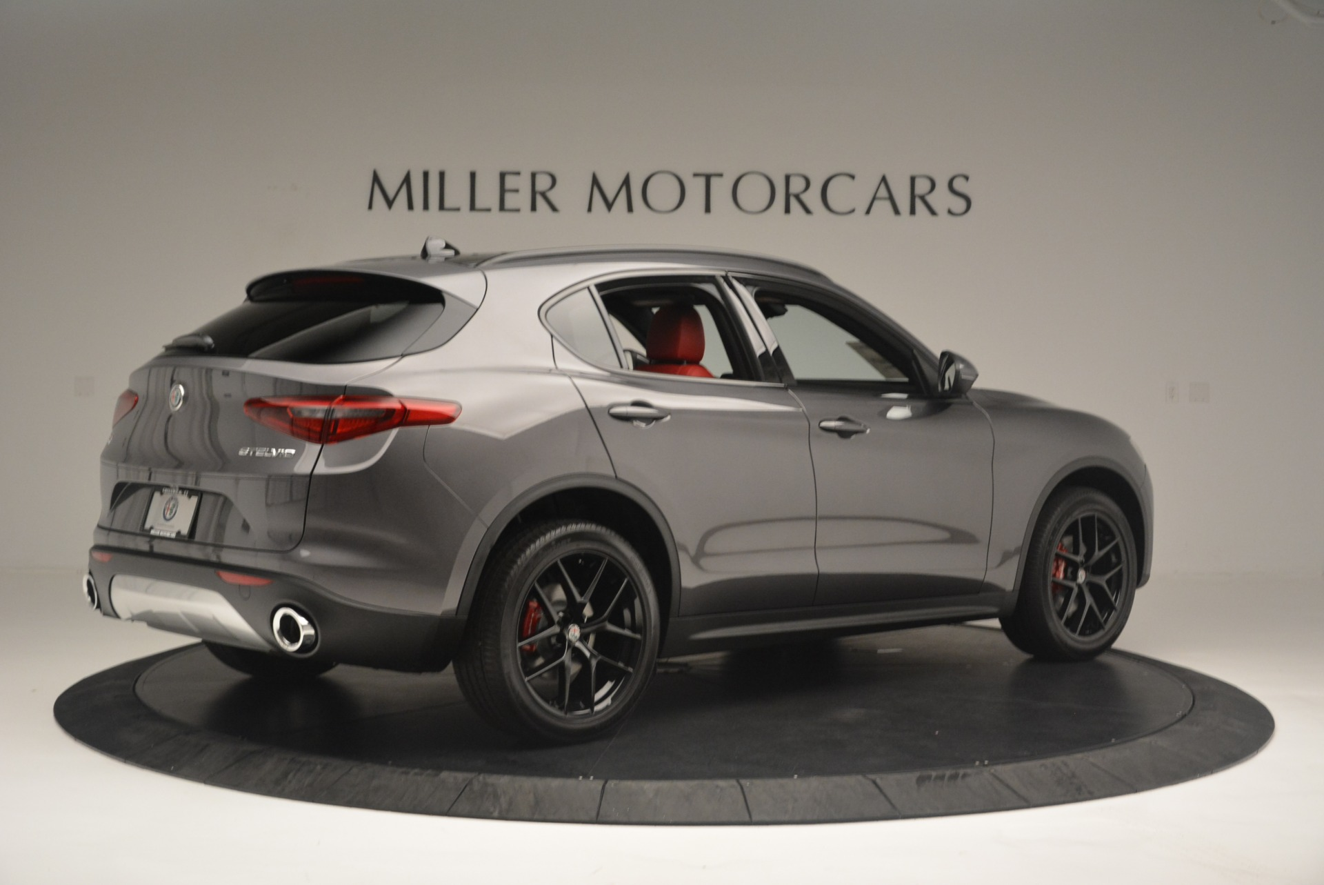 New 2018 Alfa Romeo Stelvio Ti Sport Q4 For Sale In Greenwich, CT 2393_p9