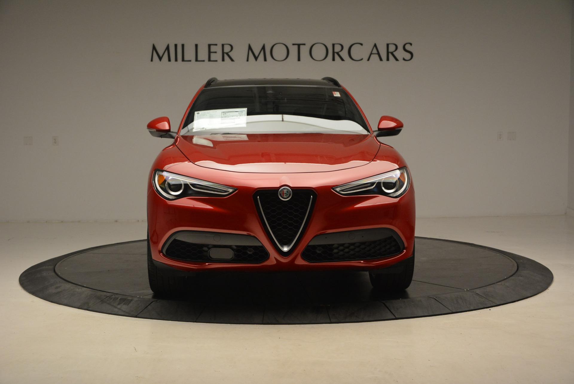 New 2018 Alfa Romeo Stelvio Ti Sport Q4 For Sale In Greenwich, CT 2407_p12