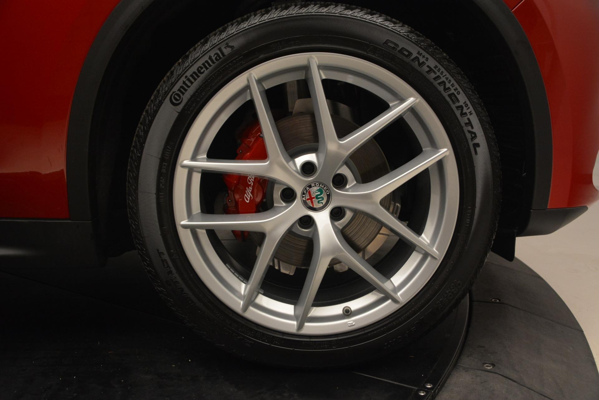New 2018 Alfa Romeo Stelvio Ti Sport Q4 For Sale In Greenwich, CT 2407_p13