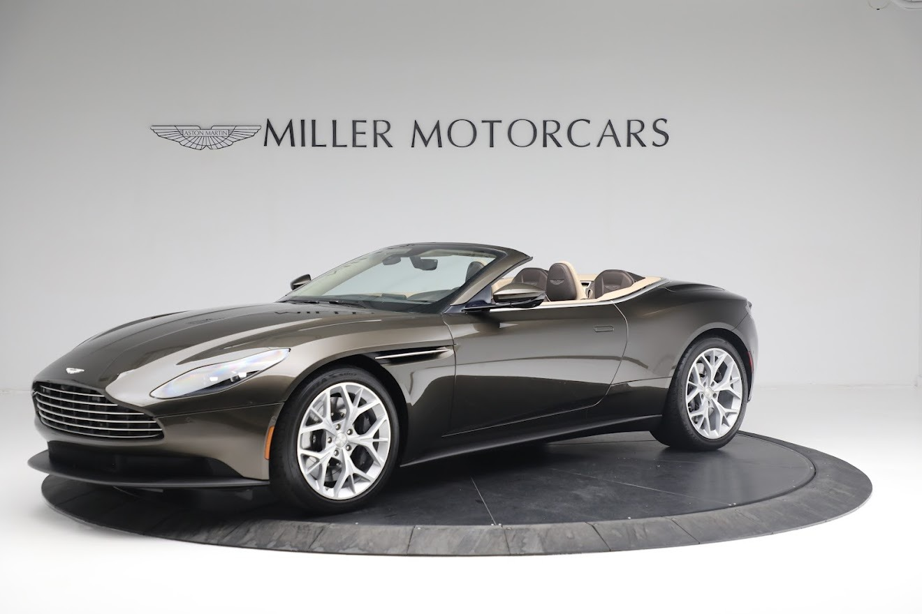 New 2019 Aston Martin DB11 V8 Convertible For Sale In Greenwich, CT 2410_main